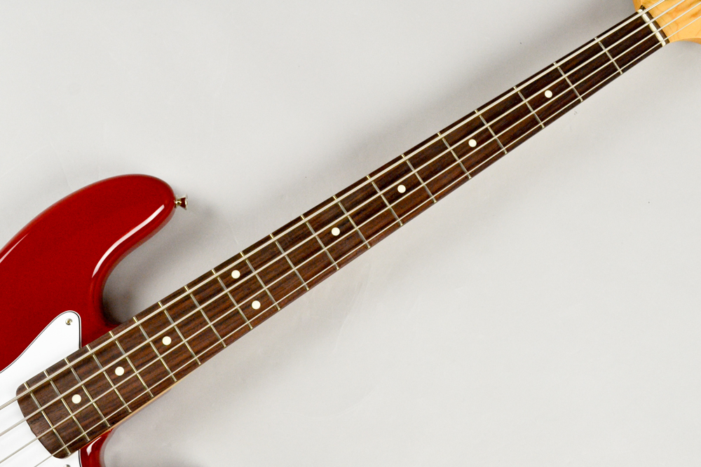 Made in Japan Hybrid 60s Jazz Bass TRRの指板画像