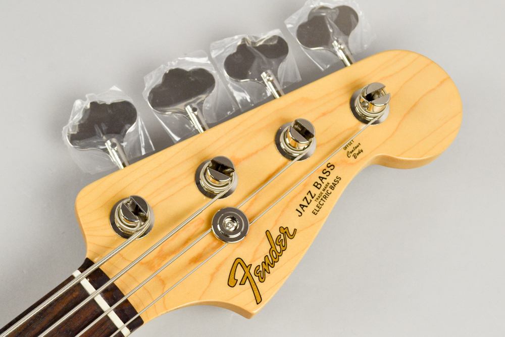 Made in Japan Hybrid 60s Jazz Bass TRRのヘッド画像