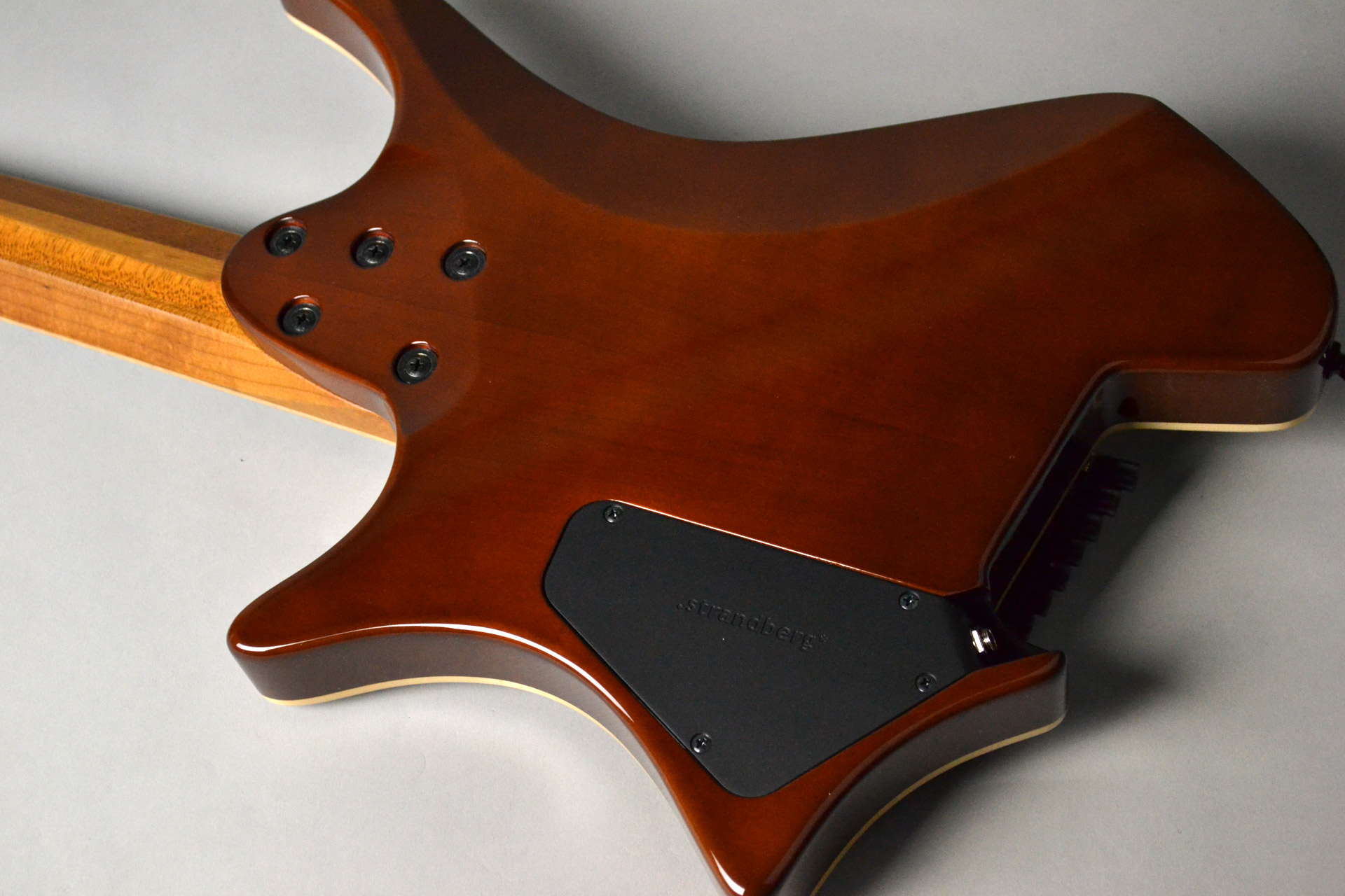 Boden J7 Standard Rosewood Roasted Maple Neckのボディバック-アップ画像