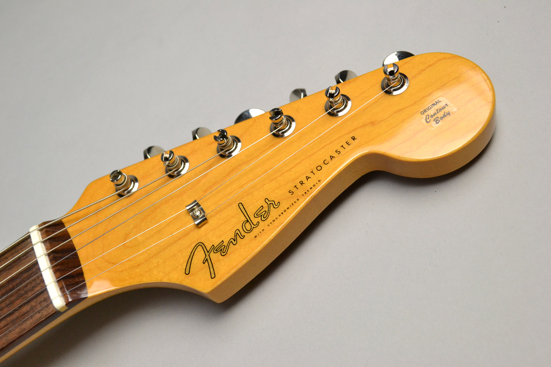MADE IN JAPAN TRADITIONAL 60S STRATOCASTER Candy Blueのヘッド画像