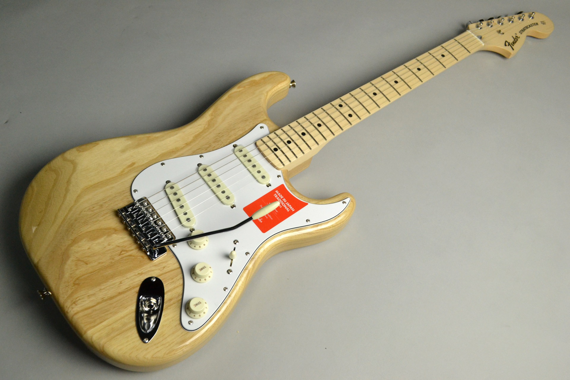 MADE IN JAPAN TRADITIONAL 70S STRATOCASTER Ash Natural