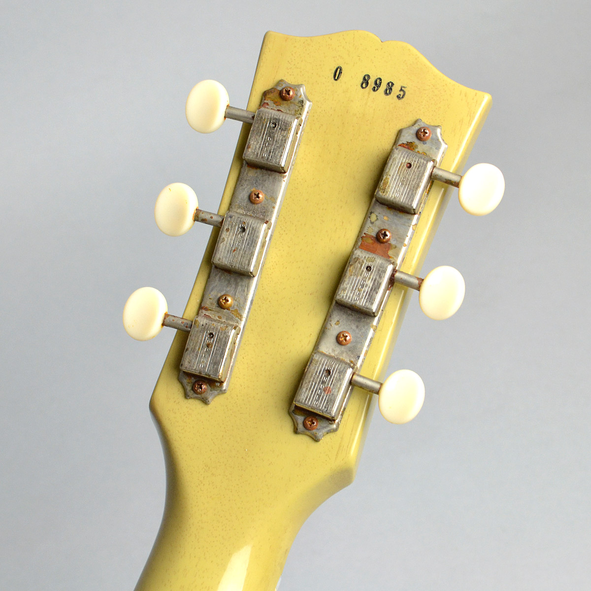 1960 Les Paul Special Double Cutaway VOSのヘッド裏-アップ画像