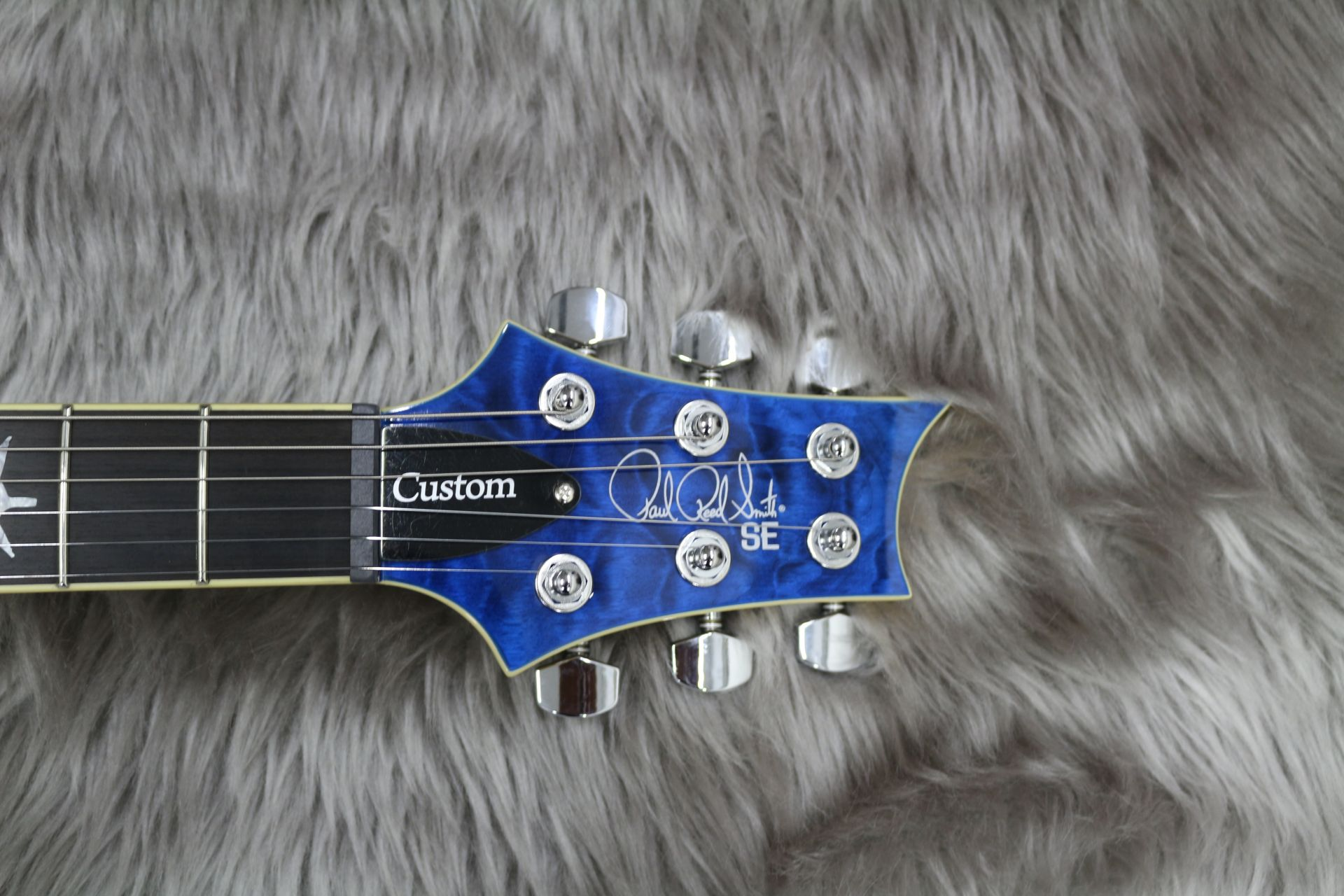 SE CUSTOM 24 QM LTD – Paul Reed Smithのヘッド画像