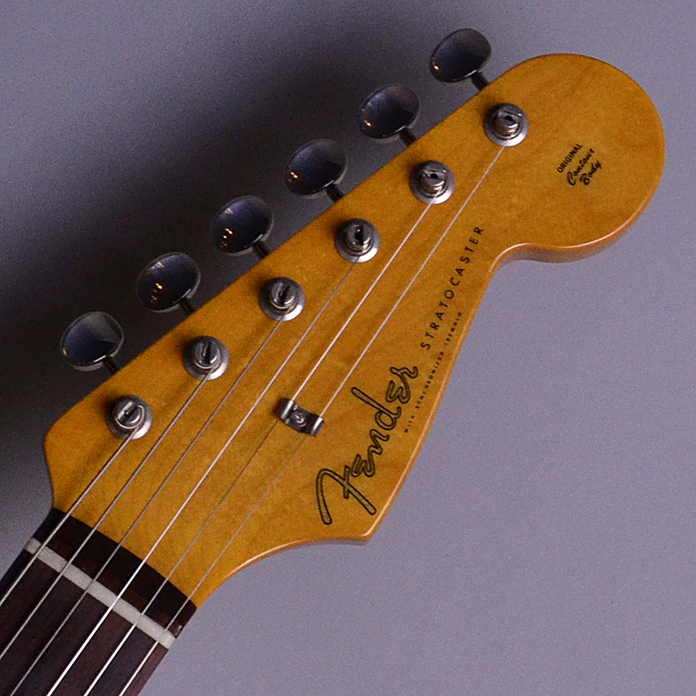 Japan 60s ST MOD Assembly with Belden 8942+8947 , Custom Shop Fat '60s STRATOCASTER PU【JD16009892】のヘッド画像
