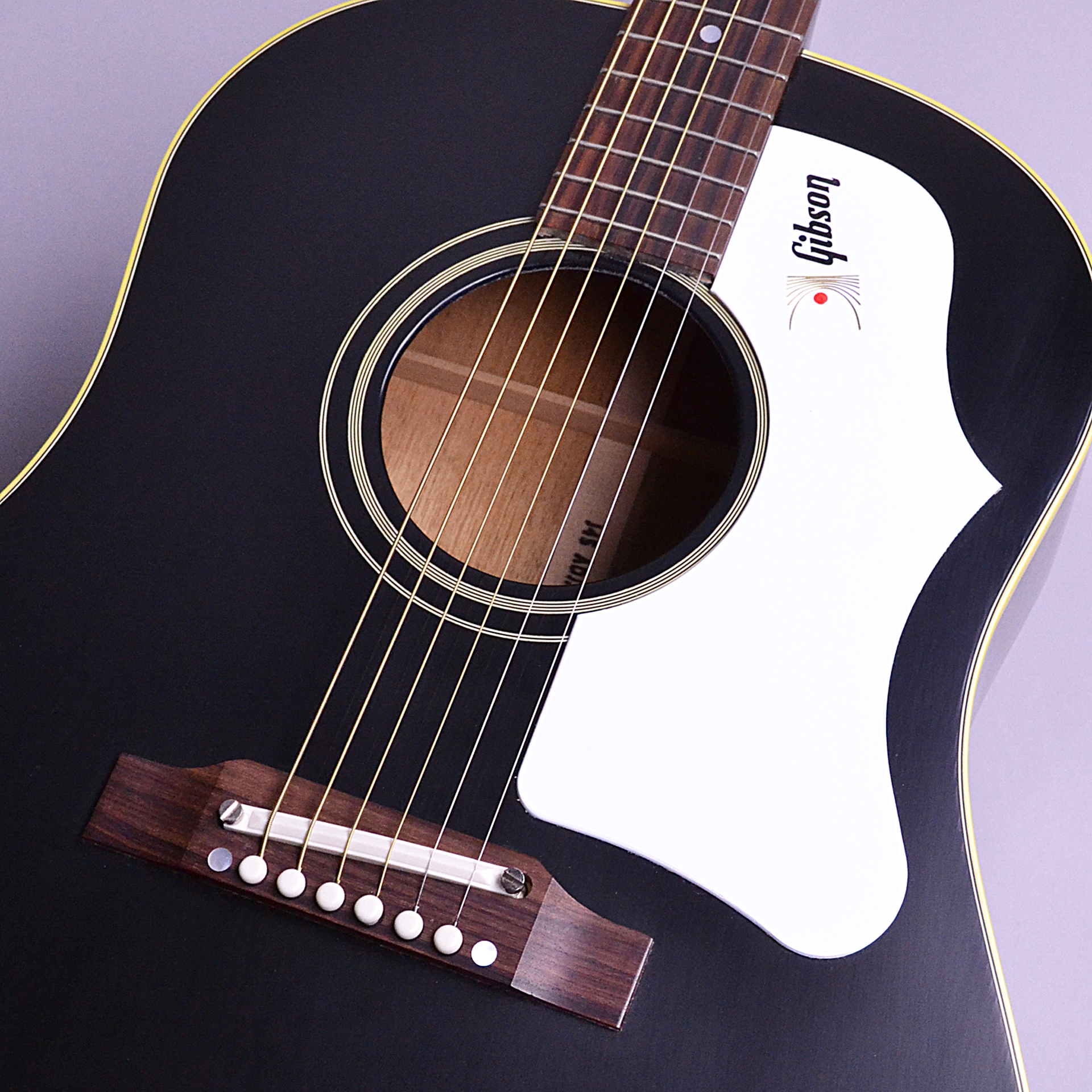 1960s J-45 Ebony Adjustable saddle VOSのヘッド画像