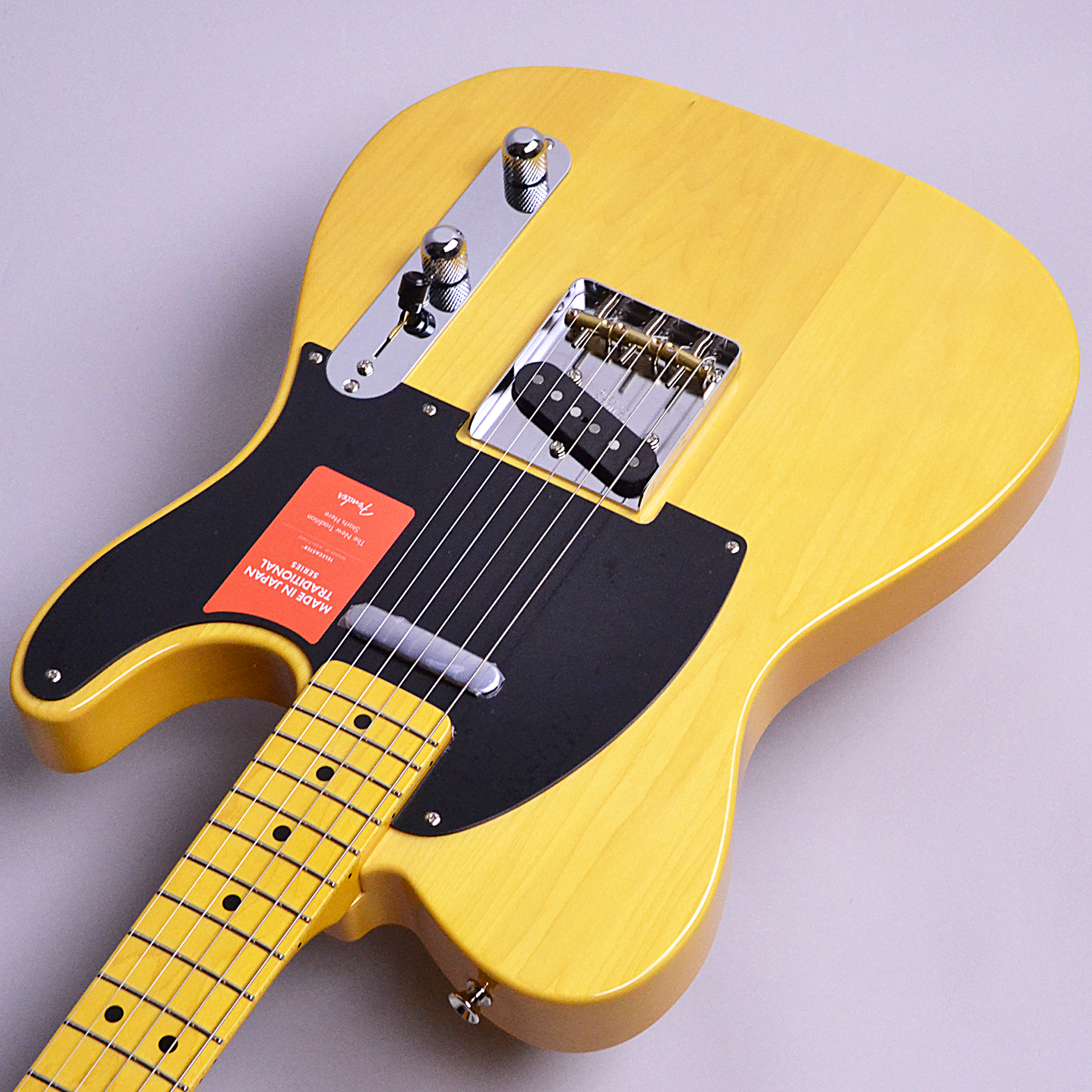 Made in JAPAN Traditional 50s Telecasterのヘッド画像