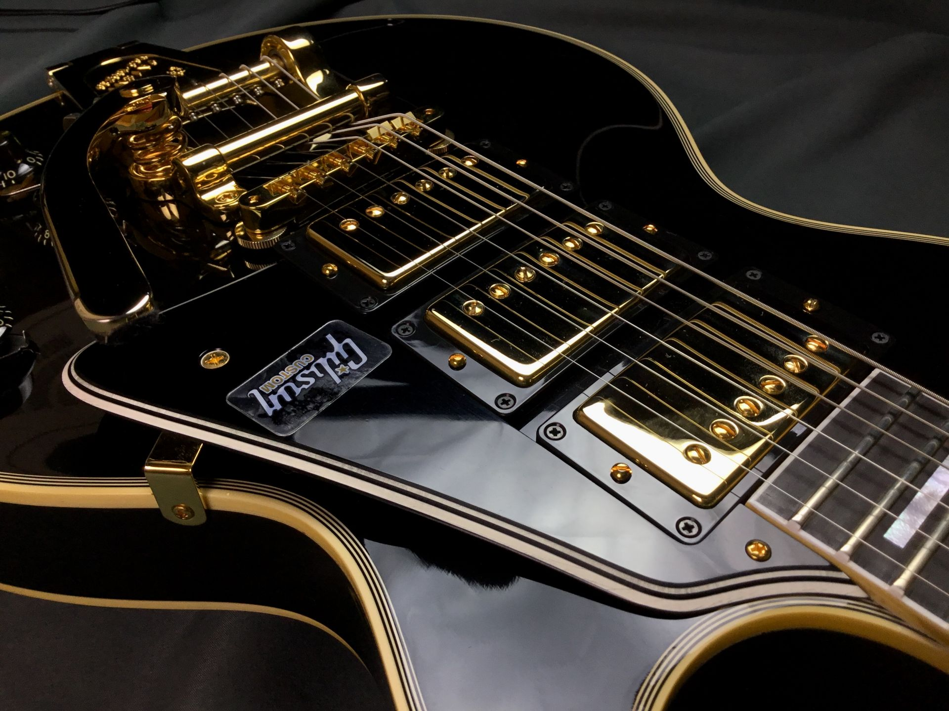 1957 Les Paul Custom 3Pickup Factory Bigsby M2Mのケース・その他画像