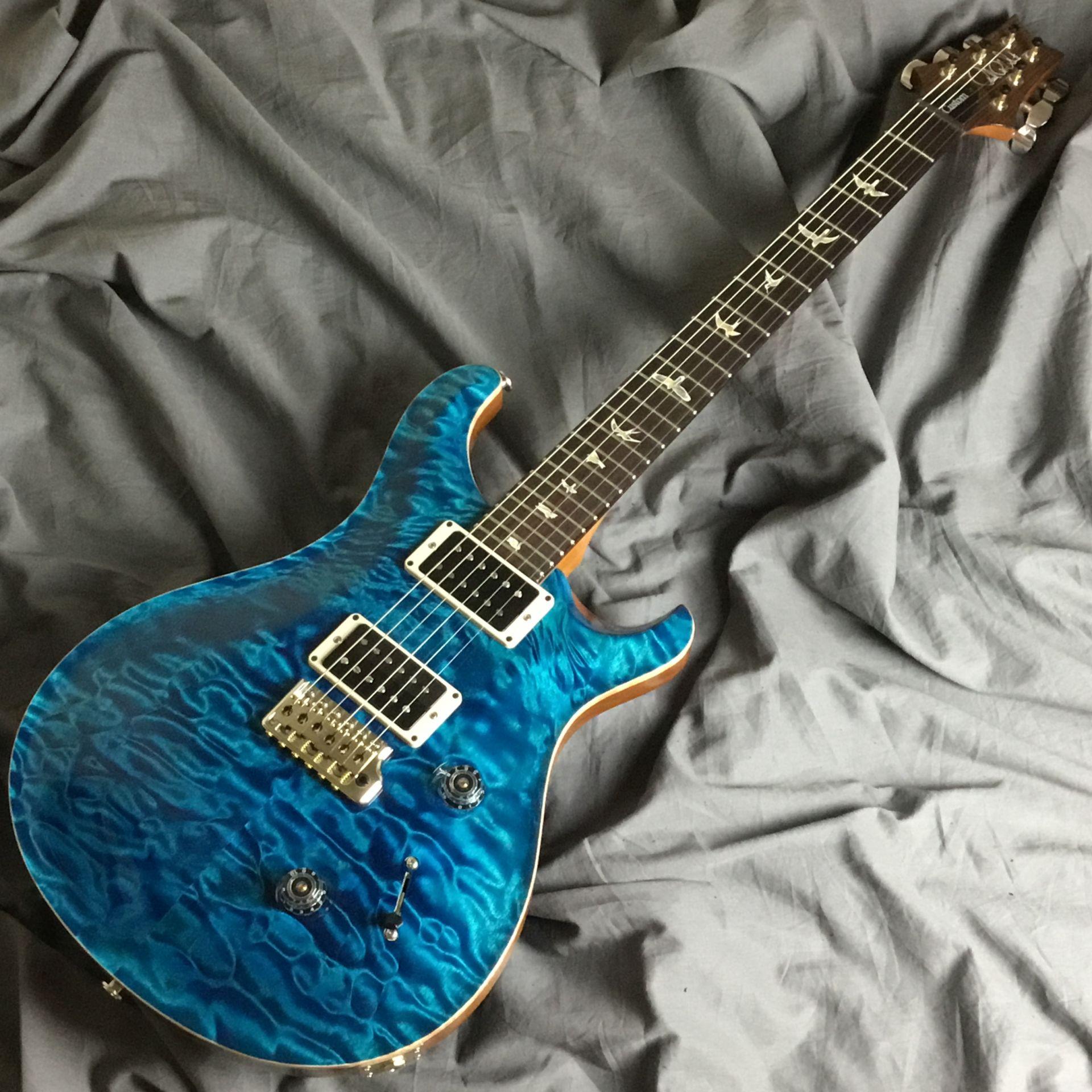 Paul Reed Smith(PRS)  Custom24 10TOP Quilt/Blue... 写真画像