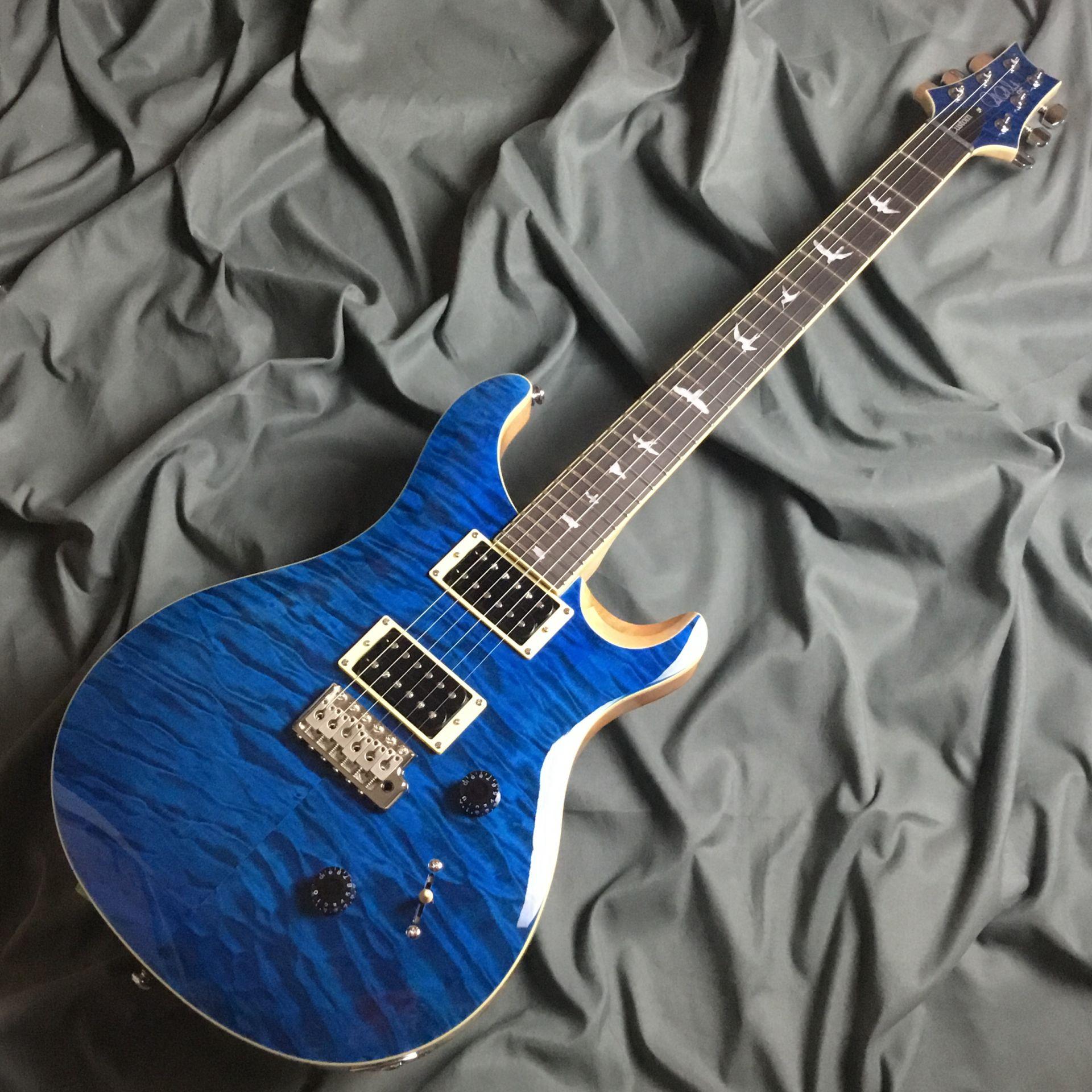 SE CUSTOM 24 QM LTD  Blue Matteo 島村楽器オリジナルモデルのボディバック-アップ画像