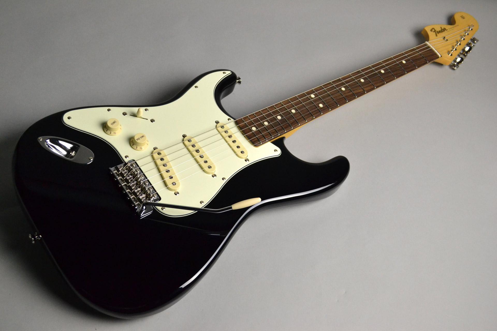 """Guitar Magazine / Fender / Stratocaster """"Seattle"""" Black"""