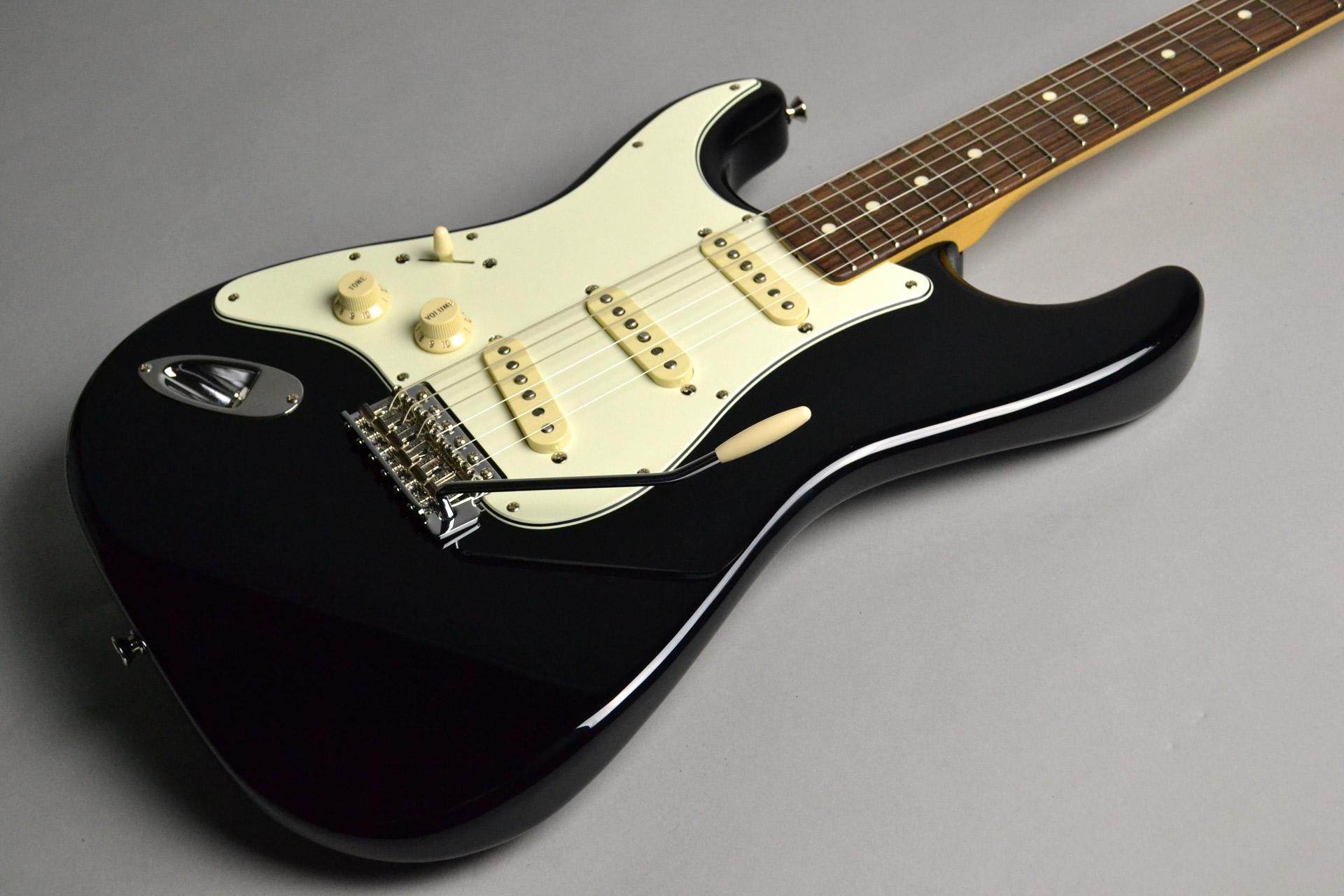 "Guitar Magazine / Fender / Stratocaster ""Seattle"" Blackのボディトップ-アップ画像"
