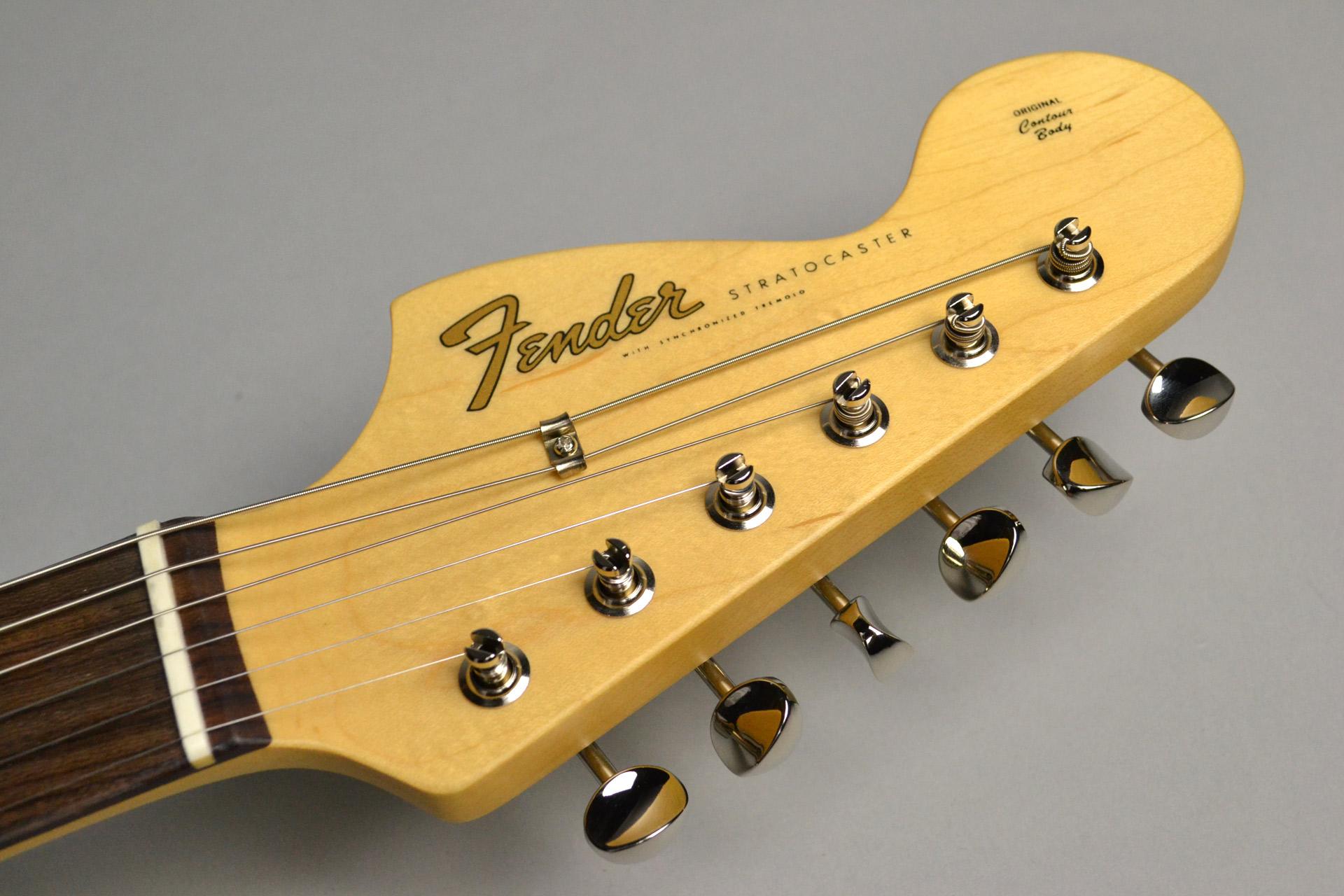 "Guitar Magazine / Fender / Stratocaster ""Seattle"" Blackのヘッド画像"