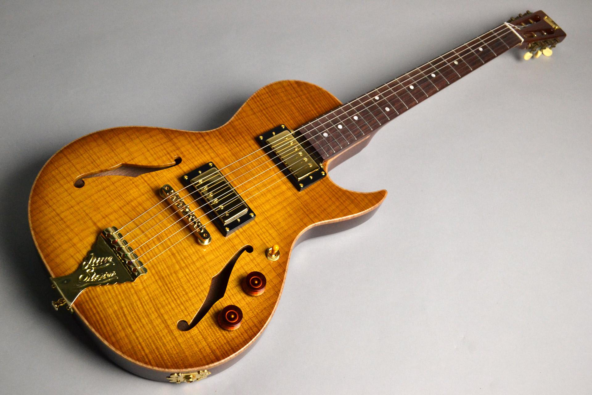 オーダーカスタムギター LITTLE SISTER CROSSROADS 5A Flame L... 写真画像
