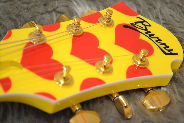 MG 165S Yellow Heartのヘッド画像