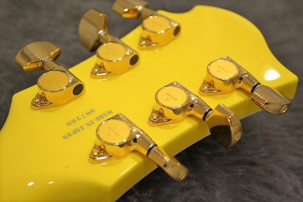MG 165S Yellow Heartのヘッド裏-アップ画像