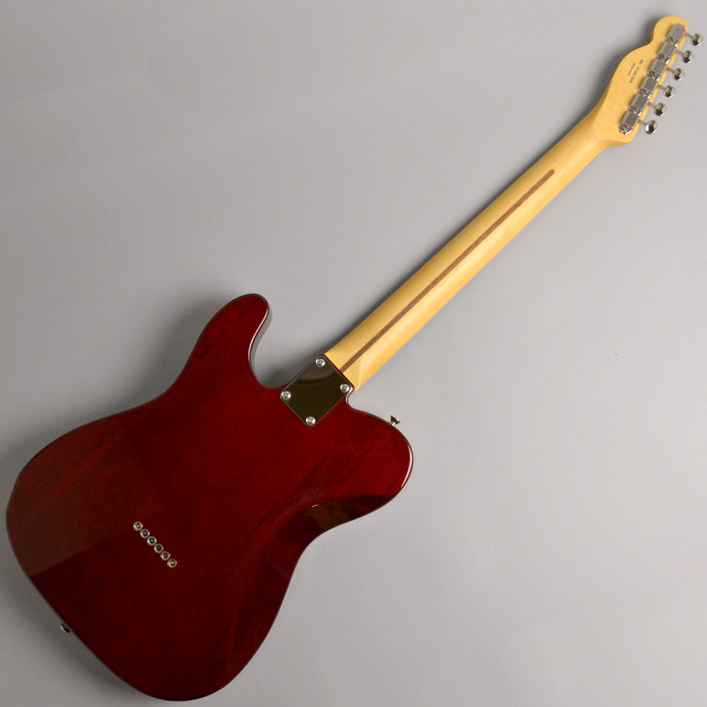 Made in Japan Hybrid 60s Telecaster Quilt Top Transparent Redの全体画像(縦)