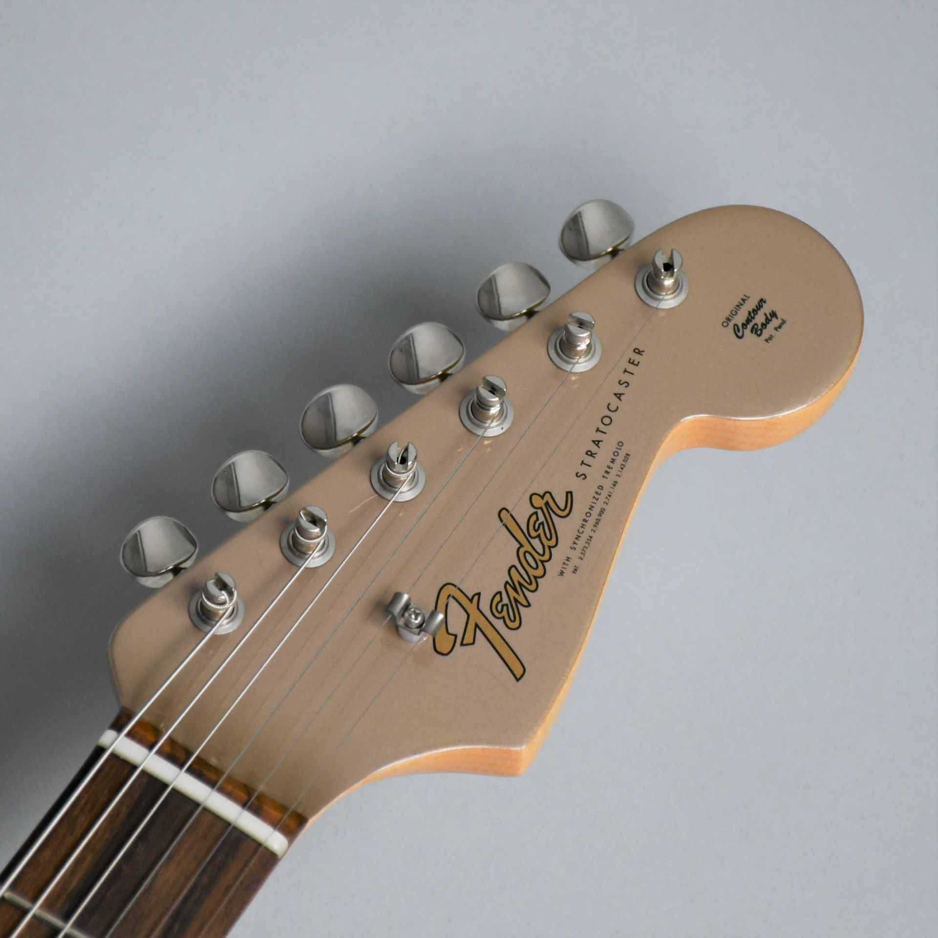 American Vintage 65 Stratocaster Round-Lam Rosewood Fingerboardの指板画像