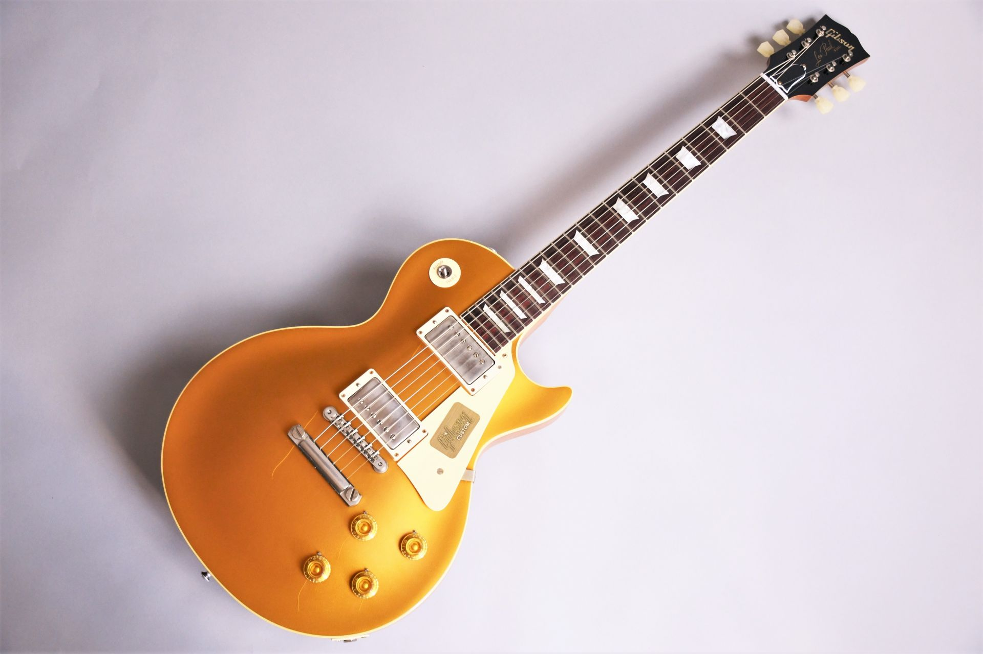 1957 Les Paul  Standard VOS 2017のボディトップ-アップ画像