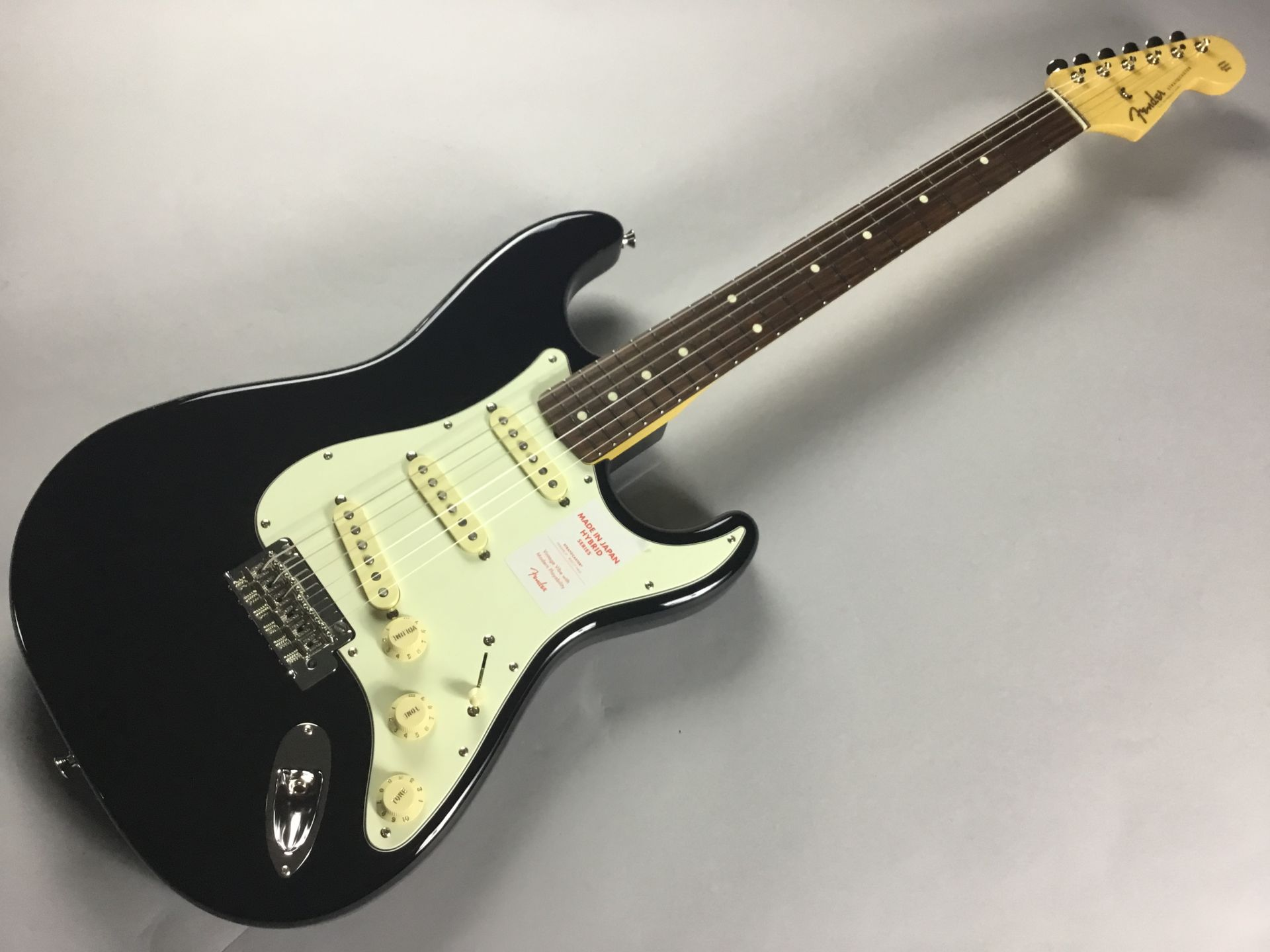 Hybrid 60s Stratocasterのボディトップ-アップ画像