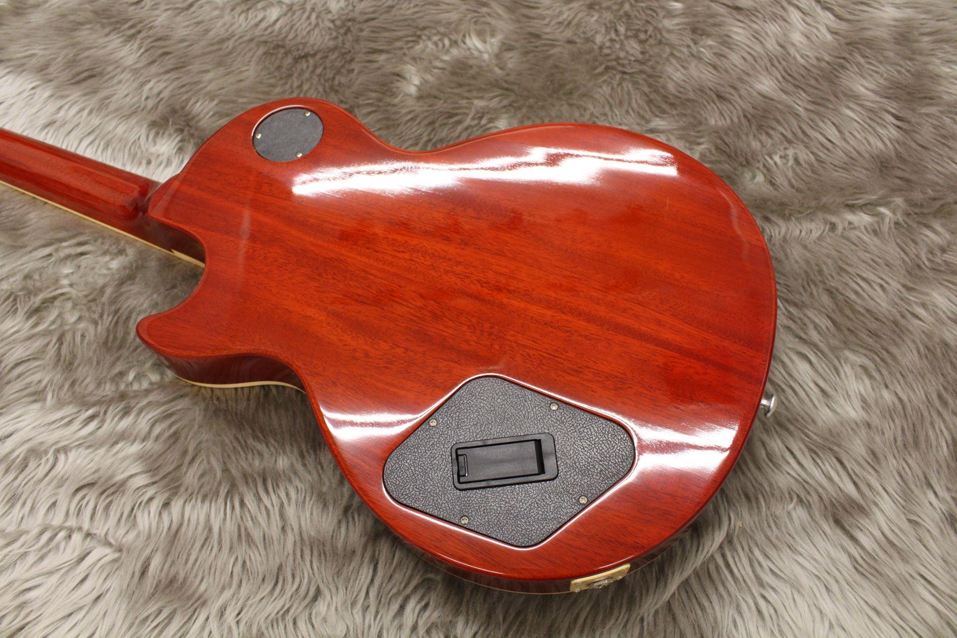 LP Traditional Pluasのボディバック-アップ画像