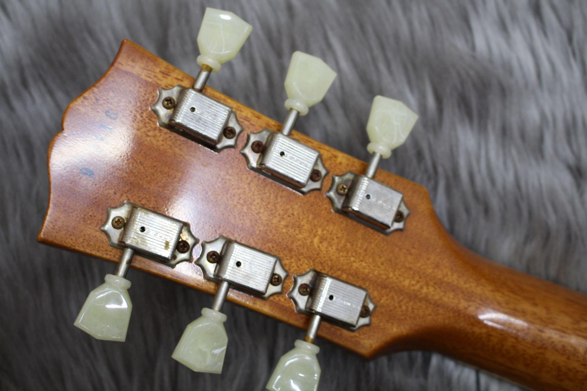 Gibson Custom Shop 1959 Les Paul Standard VOSのヘッド裏-アップ画像
