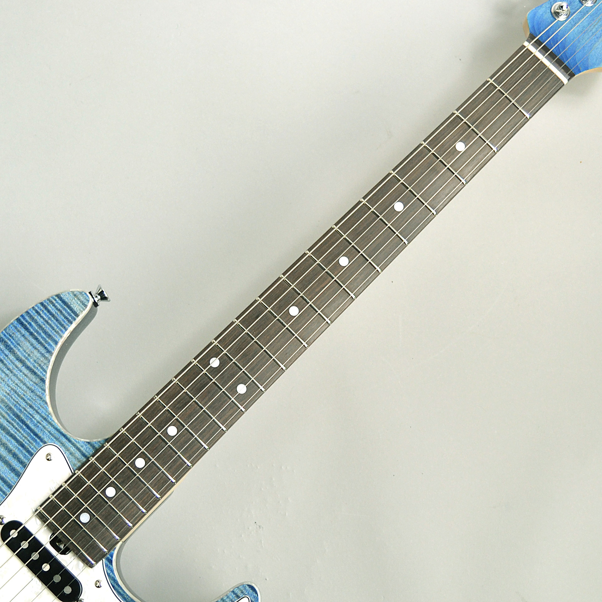 G-STUDIO-FM CUSTOM BlueOilの指板画像