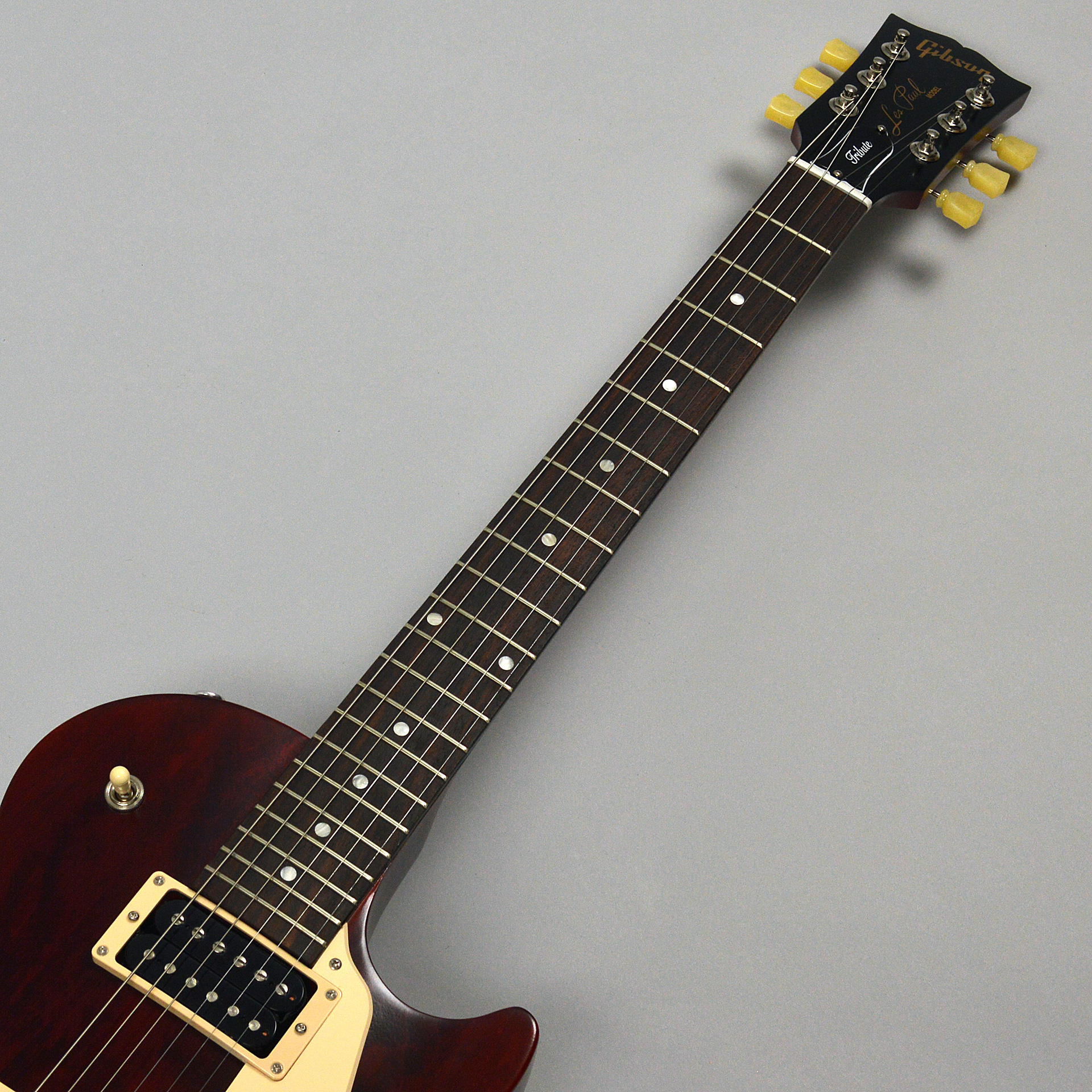 Limited Les Paul Tribute 2019 Wine Redの指板画像