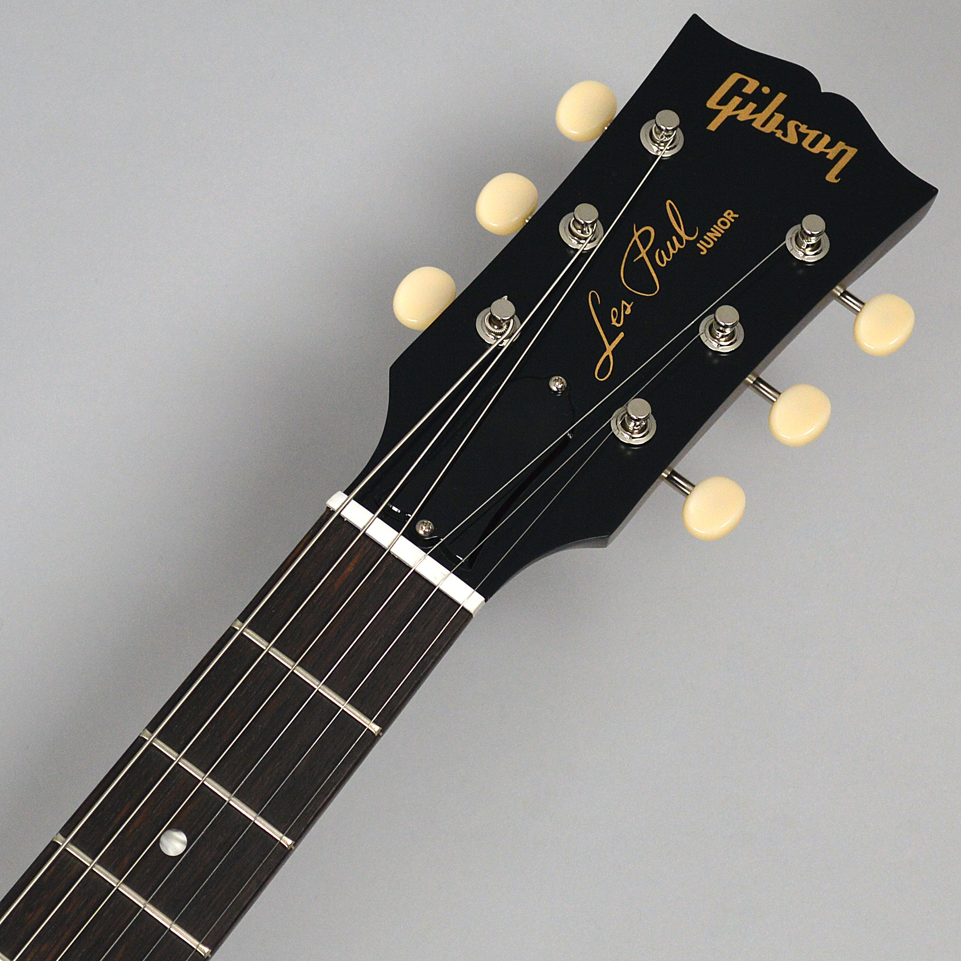 Les Paul Junior Tribute Double Cut 2019 Worn Brownのヘッド画像