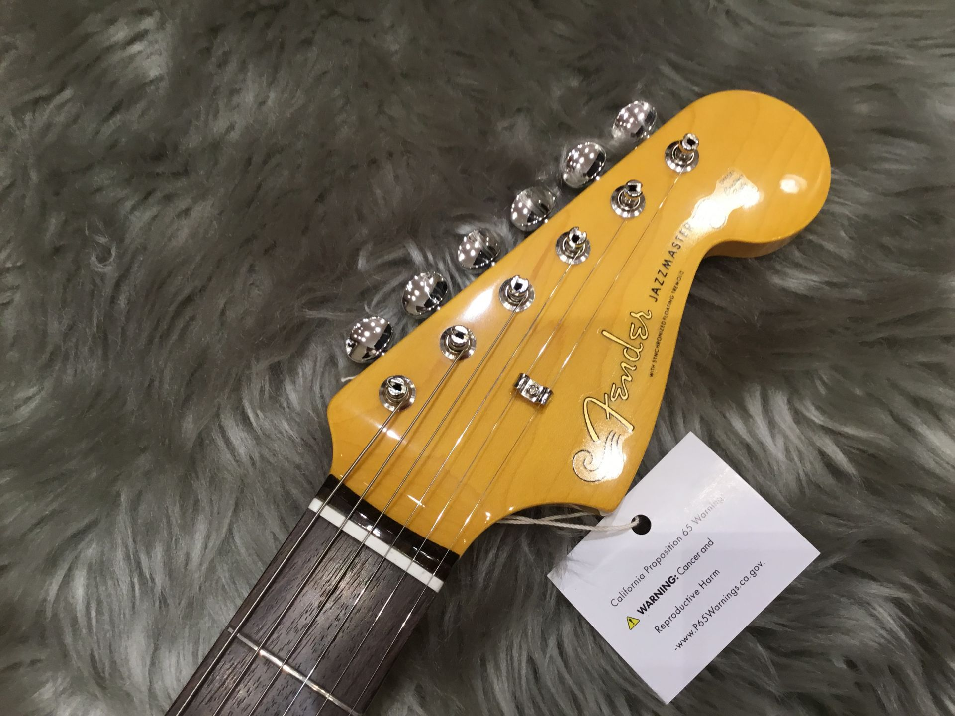 Maide In Japan TRADITIONAL 60S JAZZMASTERのヘッド画像