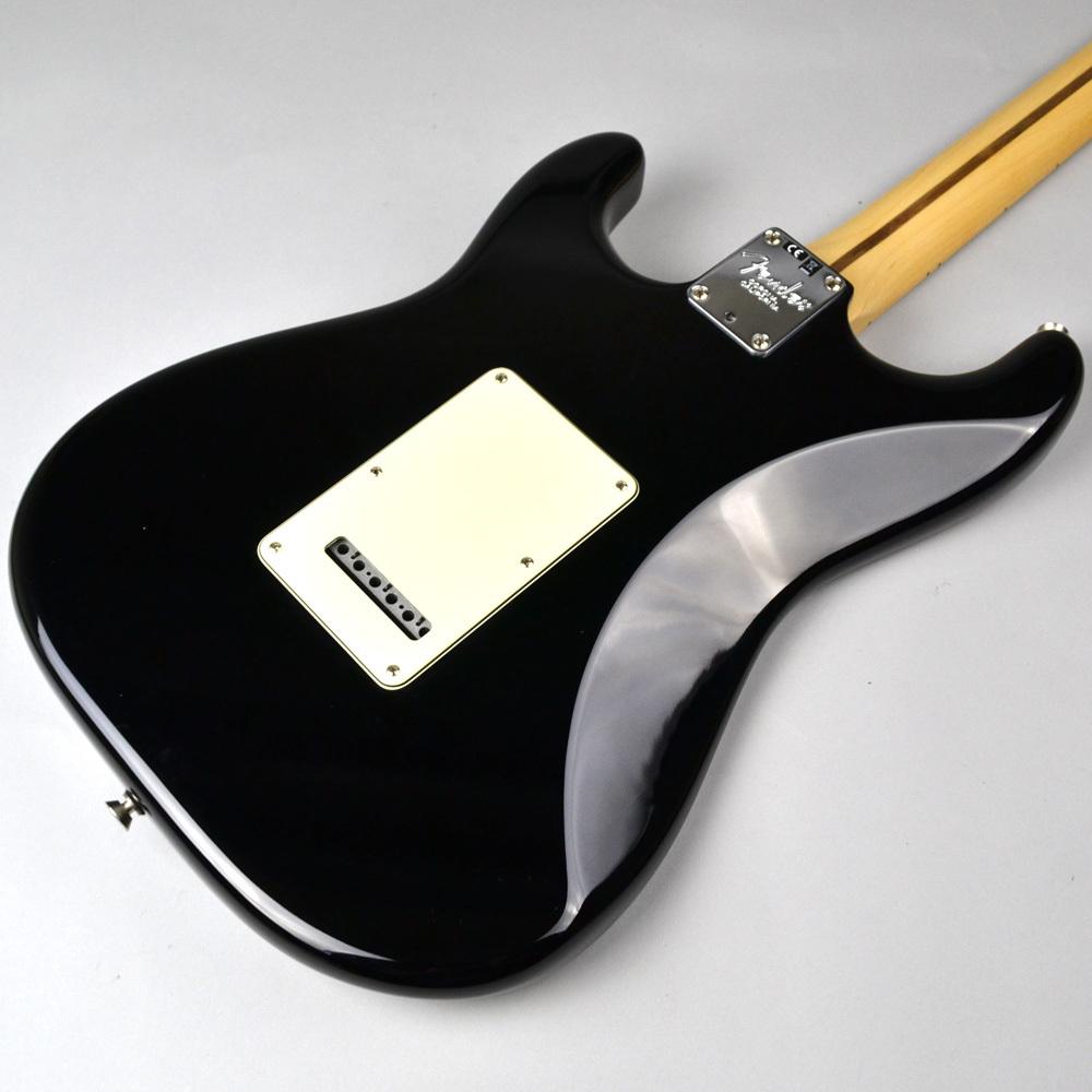 American Professional Stratocaster Blackのヘッド画像