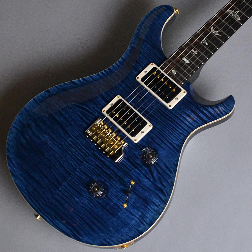 Custom24 Pattern Regular 10 Top Whael Blue (WB)【S/N:18 0265195】のボディトップ-アップ画像