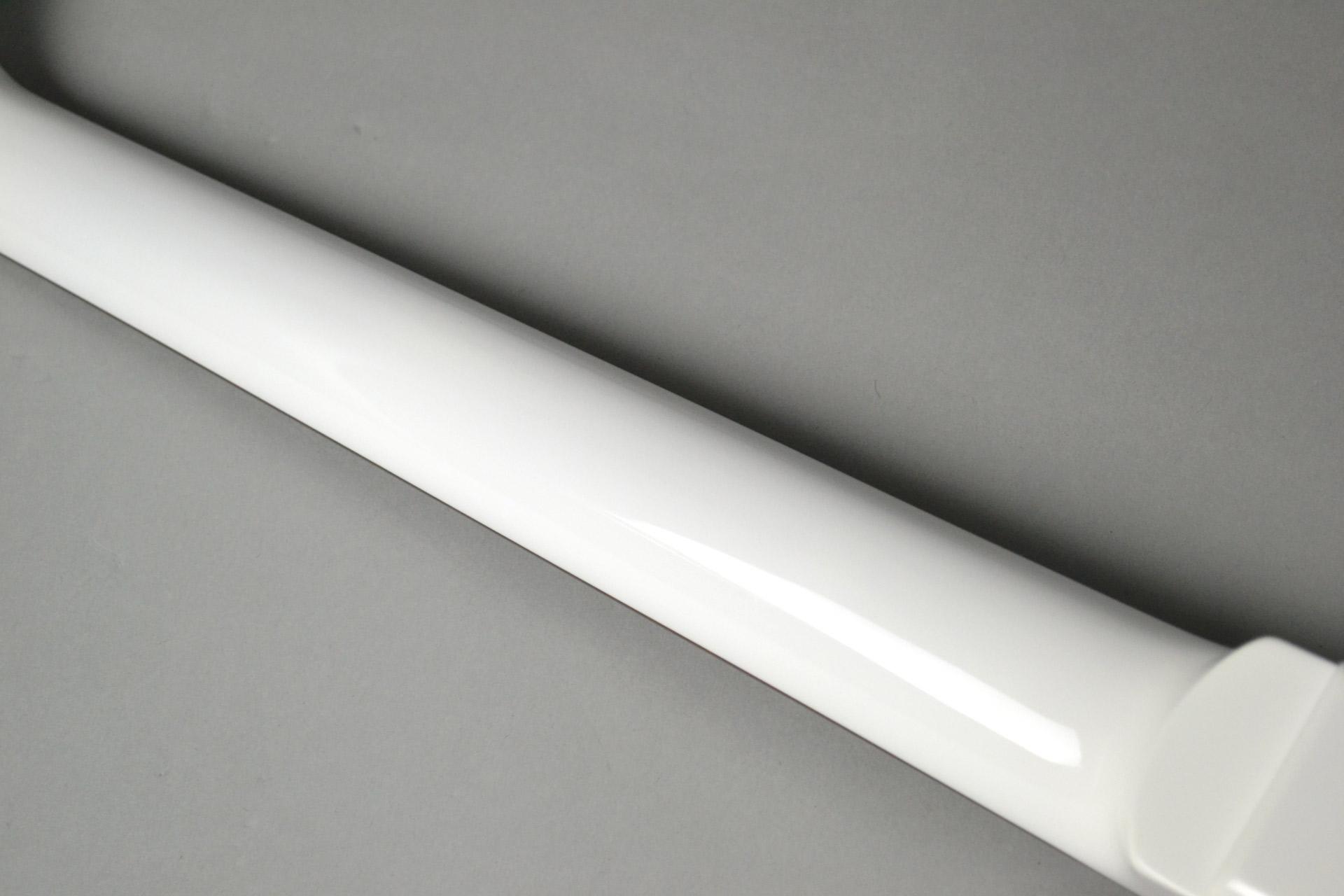 "Kz One Solid 3S23 Kahler Gloss White ""Standard Line""島村楽器限定モデルの指板画像"
