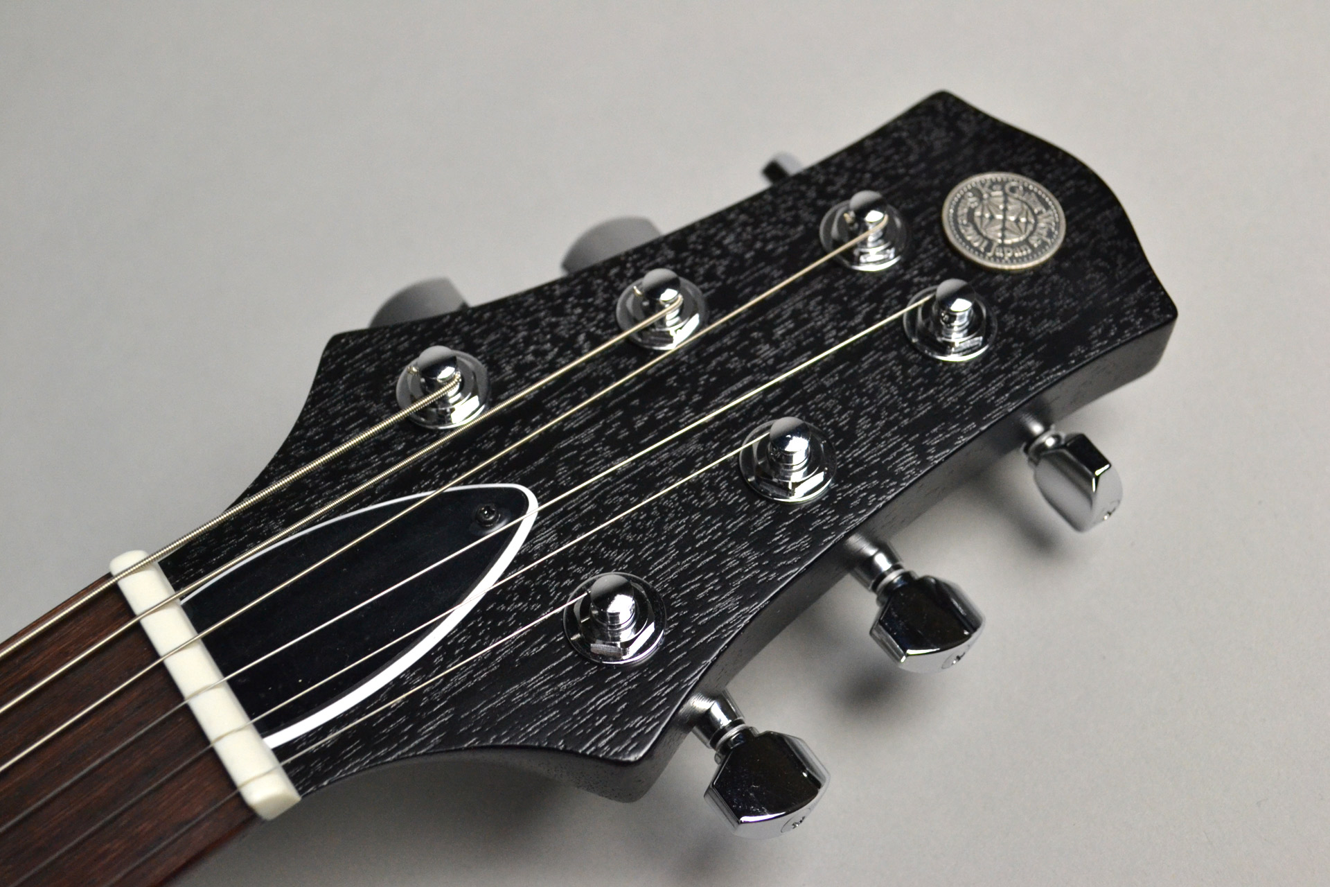 "Kz One Solid 3S23 Kahler Openpore Black ""Standard Line""島村楽器限定モデルのヘッド画像"