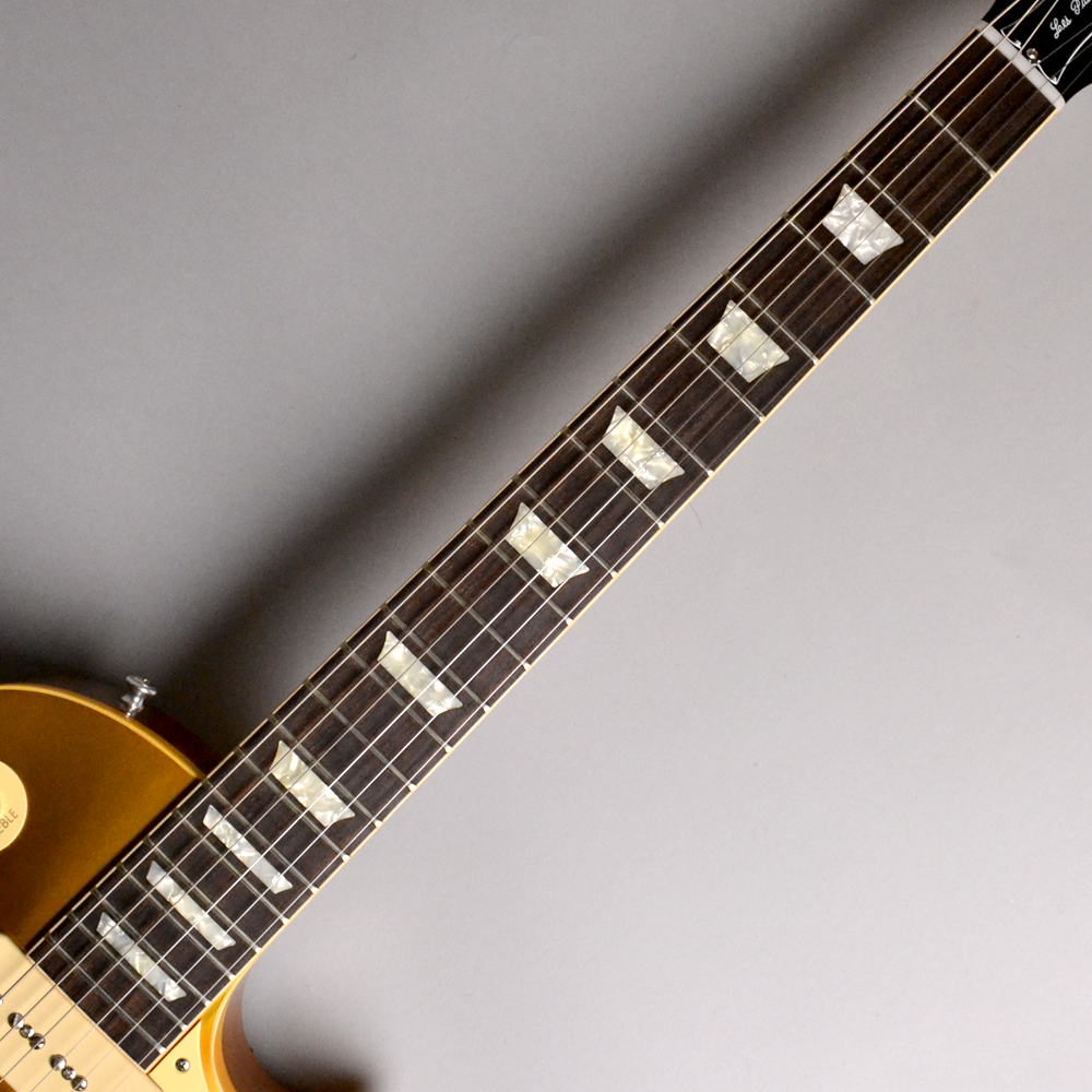 50th Anniversary 1968 Les Paul Reissue / Gold Top VOSの指板画像
