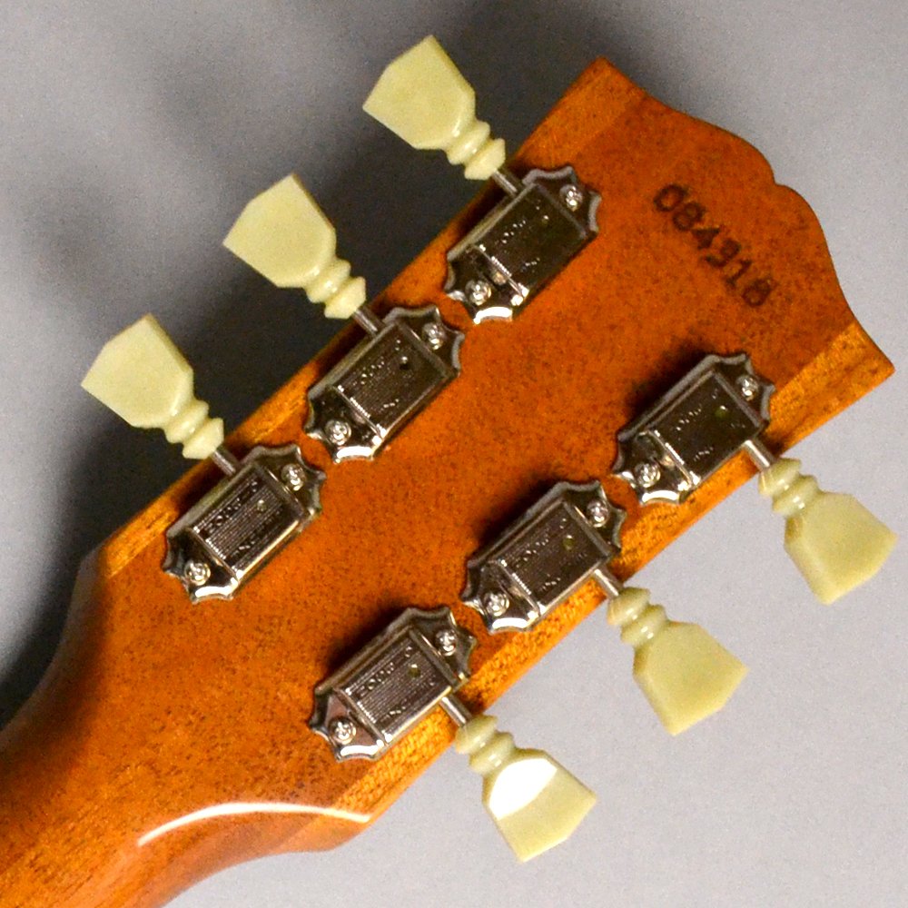 50th Anniversary 1968 Les Paul Reissue / Gold Top VOSのヘッド裏-アップ画像