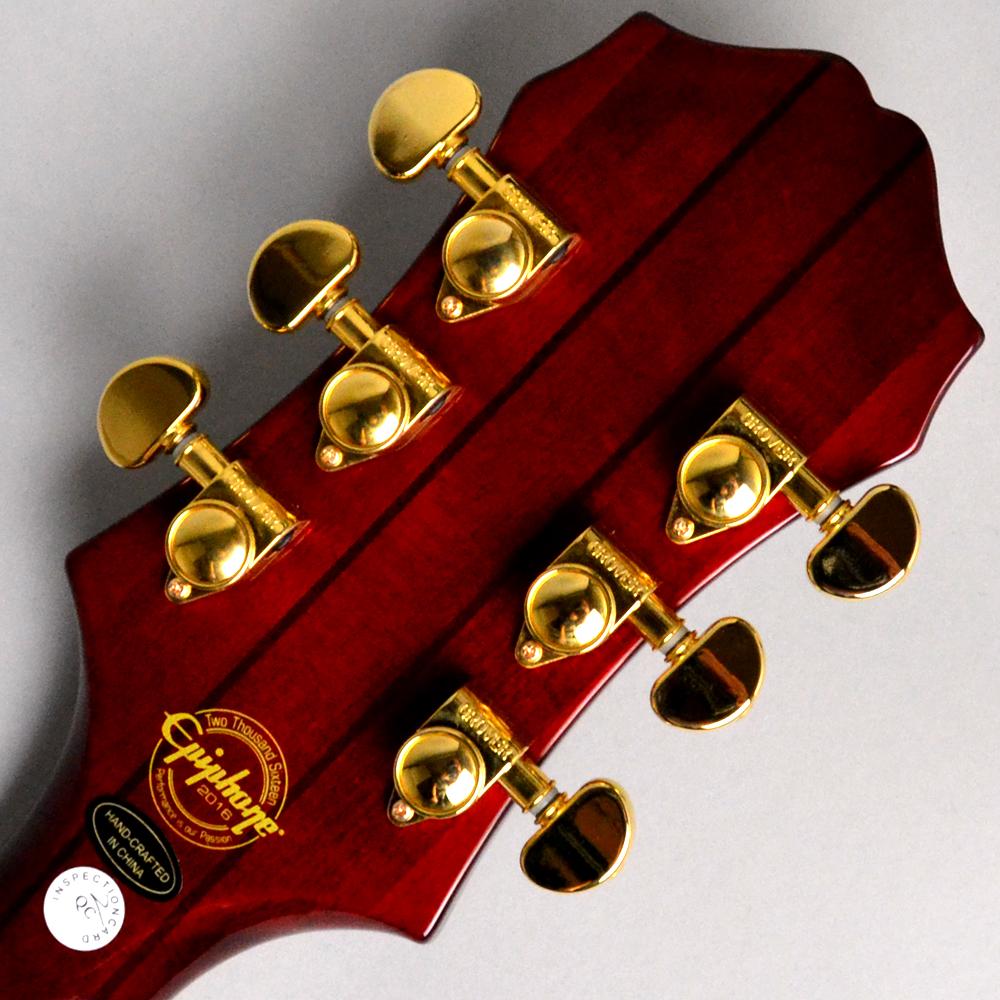 SHERATON II PRO Wine Redのヘッド裏-アップ画像
