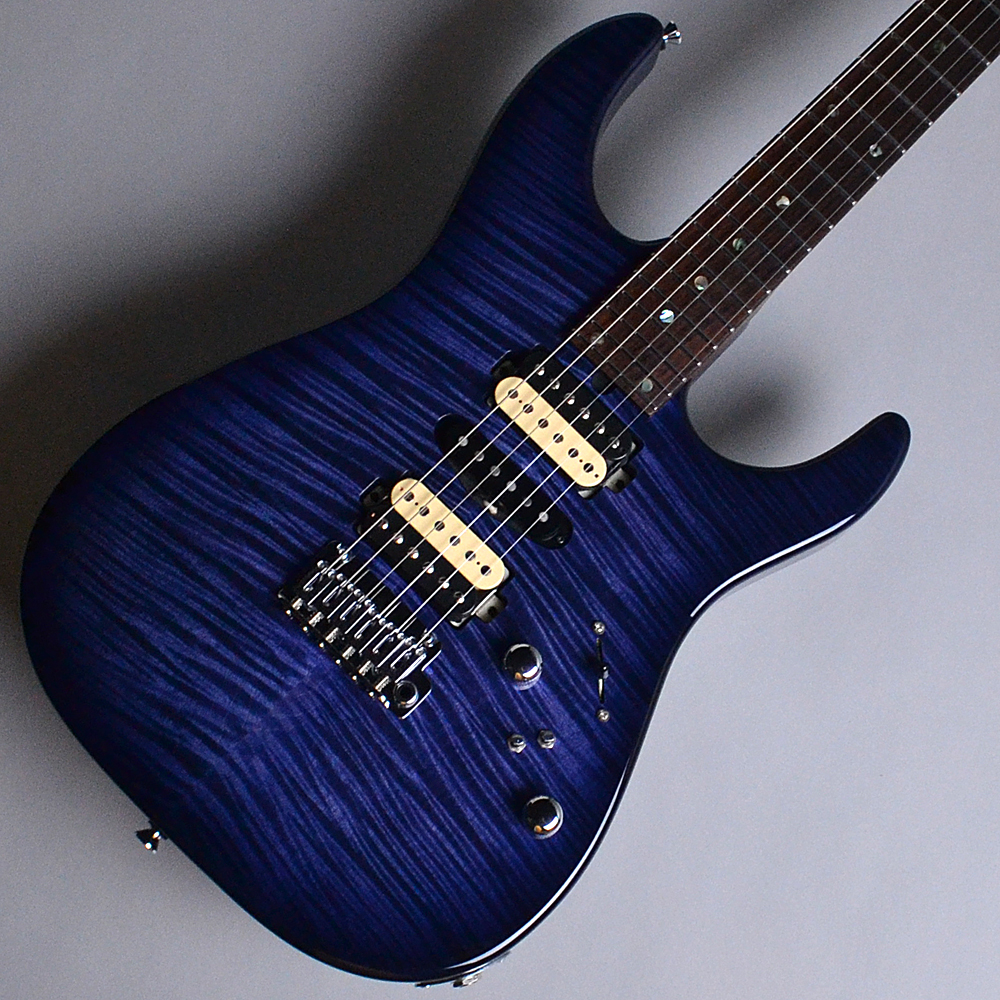 DST24 Custom Made Whale Blue Burst (WBB) 【S/N:013645】のボディトップ-アップ画像