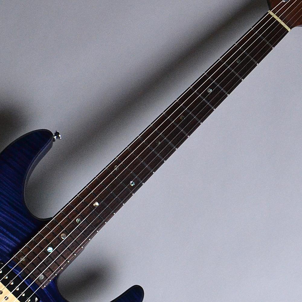 DST24 Custom Made Whale Blue Burst (WBB) 【S/N:013645】のボディバック-アップ画像