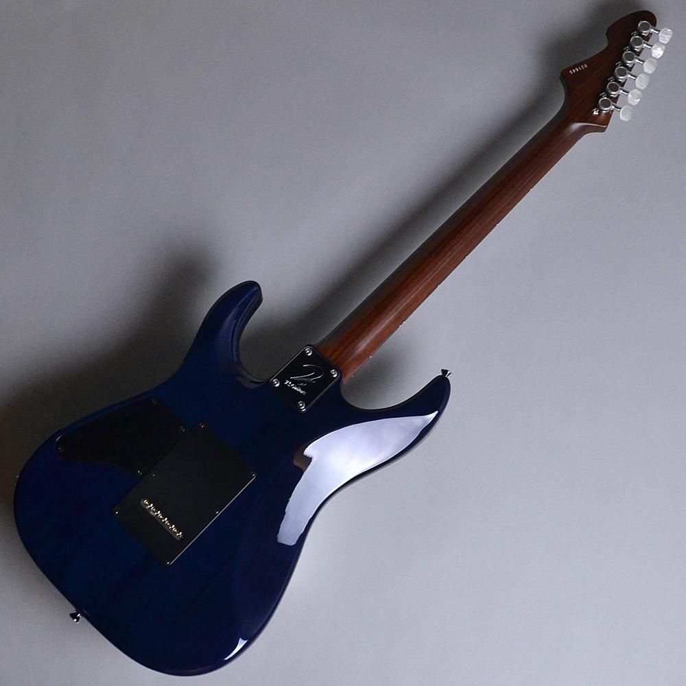DST24 Custom Made Whale Blue Burst (WBB) 【S/N:013645】のヘッド裏-アップ画像