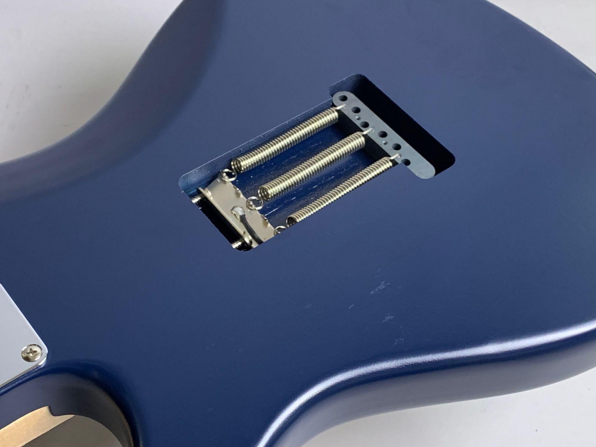 Eza SSH Ash Maple Timor Blue【生産数4本】のヘッド裏-アップ画像