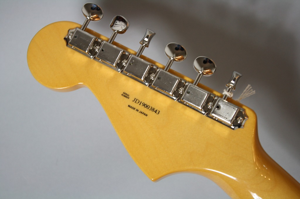 Made in Japan Traditional 60s Jazzmasterのヘッド裏-アップ画像
