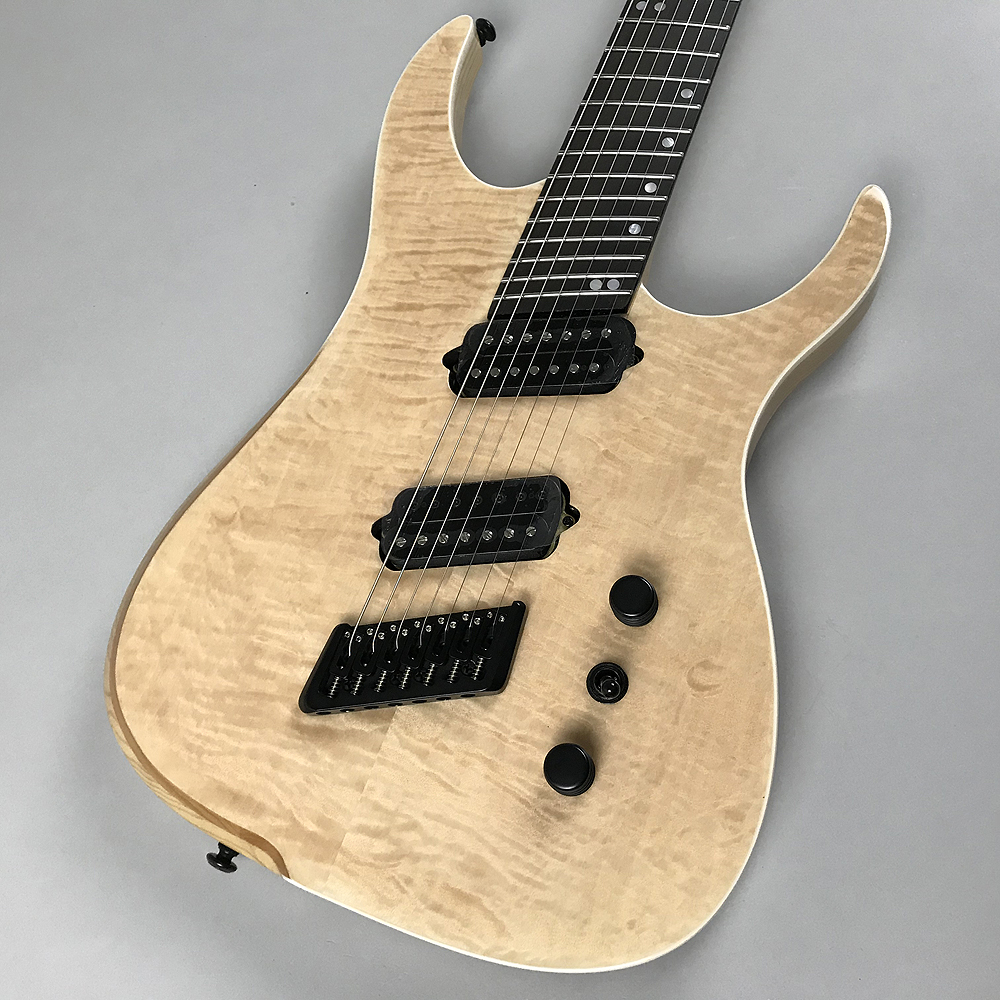 HYPE G7 FMSA NT -NATURAL-(7 Strings)のボディトップ-アップ画像