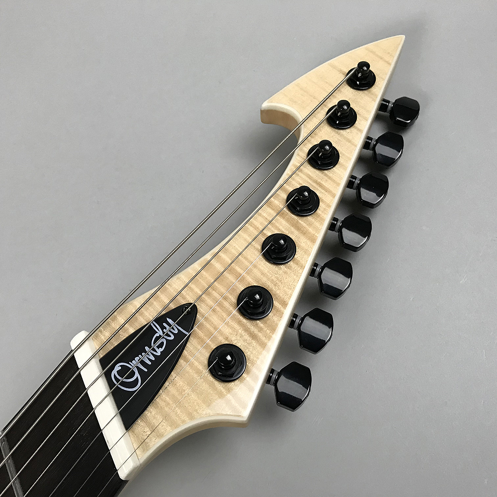 HYPE G7 FMSA NT -NATURAL-(7 Strings)のヘッド裏-アップ画像