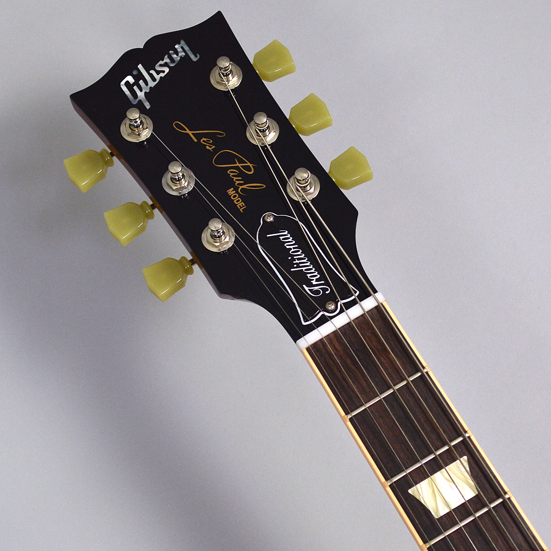 Les Paul Traditional T 2017 Left Handのヘッド画像