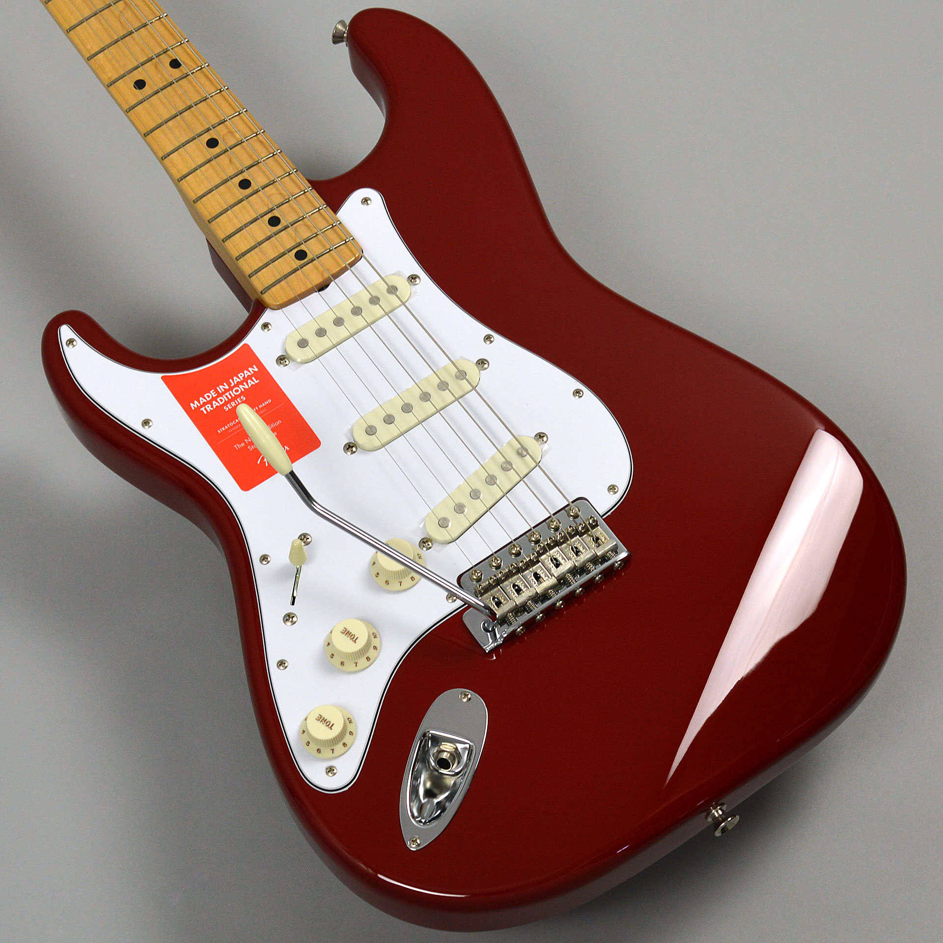 Made in Japan Traditional 68s Stratocaster Left-Handのボディトップ-アップ画像