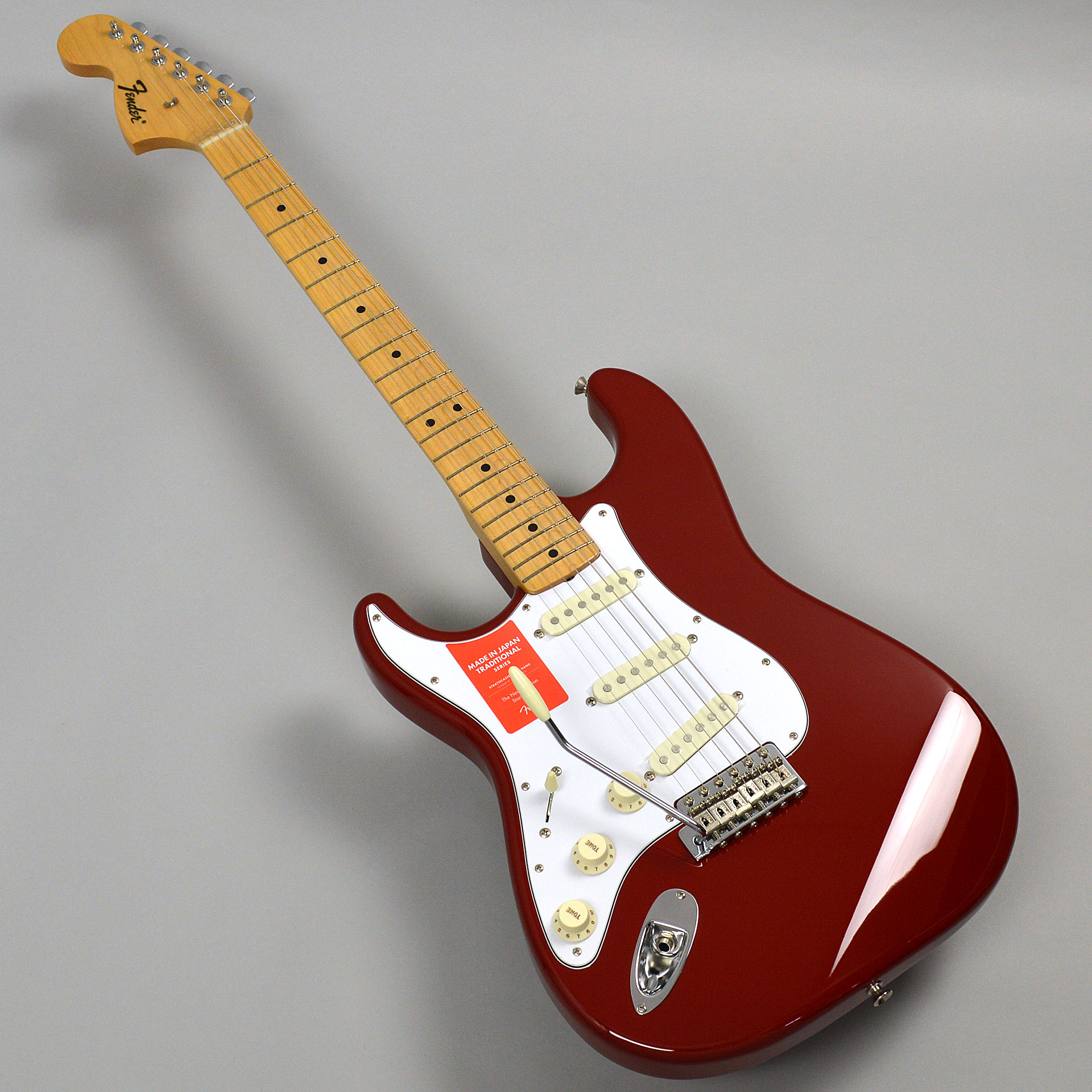 Made in Japan Traditional 68s Stratocaster Left-Handの全体画像(縦)