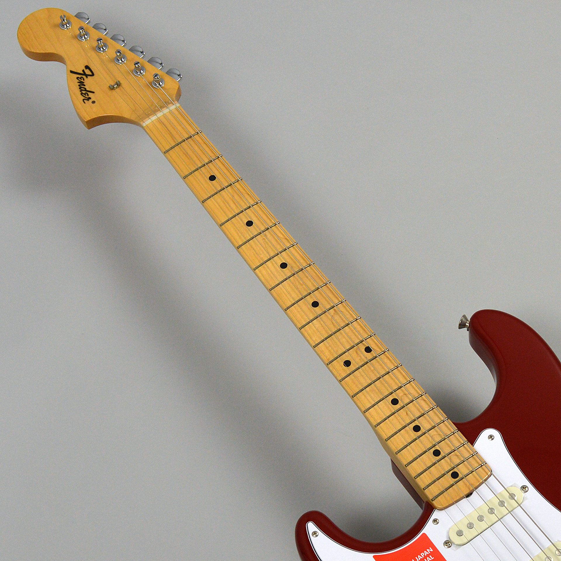 Made in Japan Traditional 68s Stratocaster Left-Handの指板画像