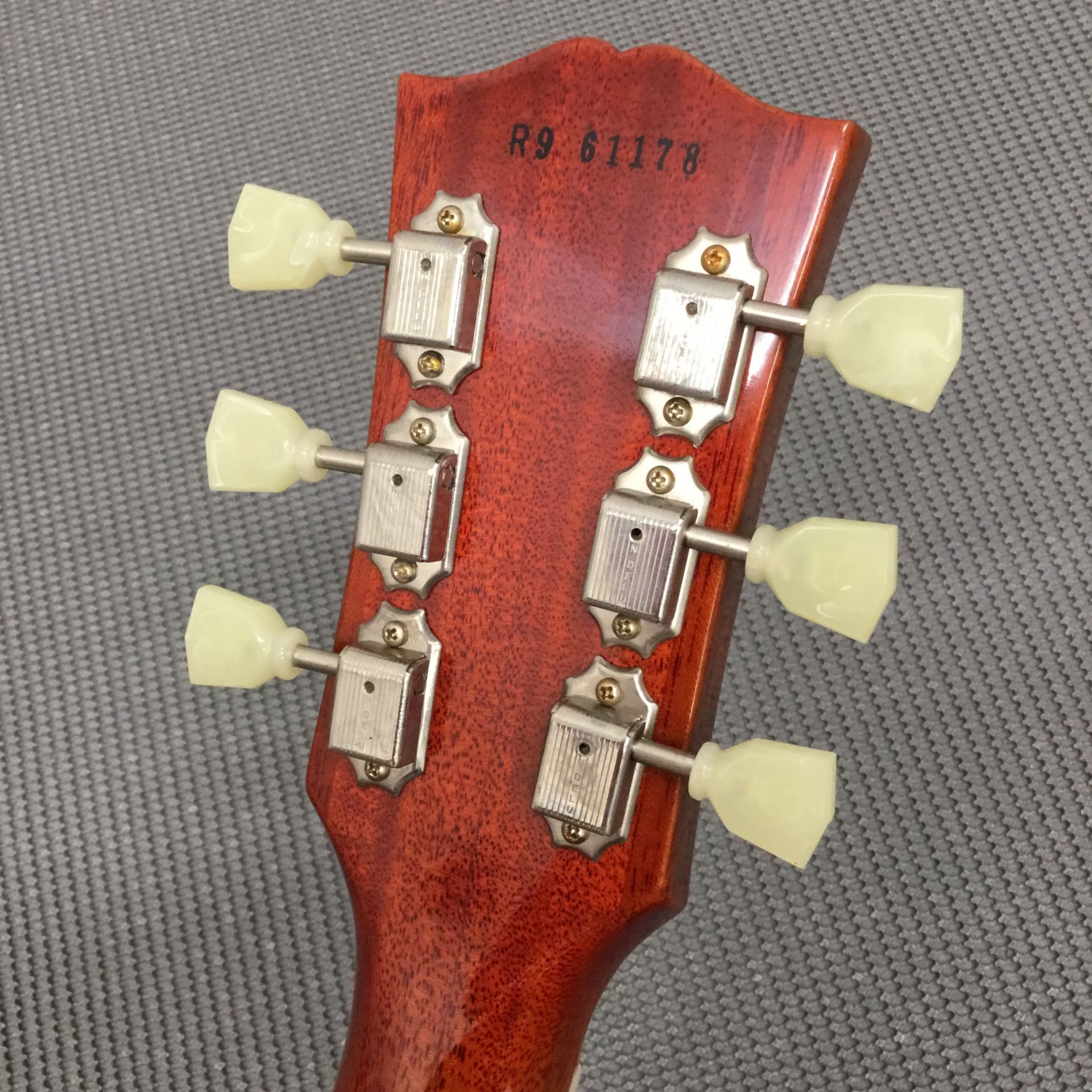 Standard Historic 1959 Les Paul 3AQ M2Mの指板画像