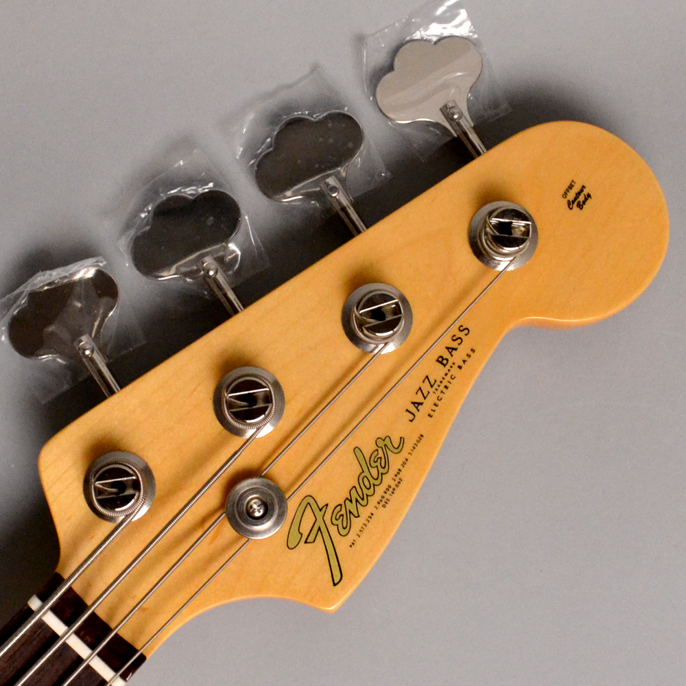AMERICAN ORIGINAL '60S JAZZ BASS Candy Apple Redのヘッド画像