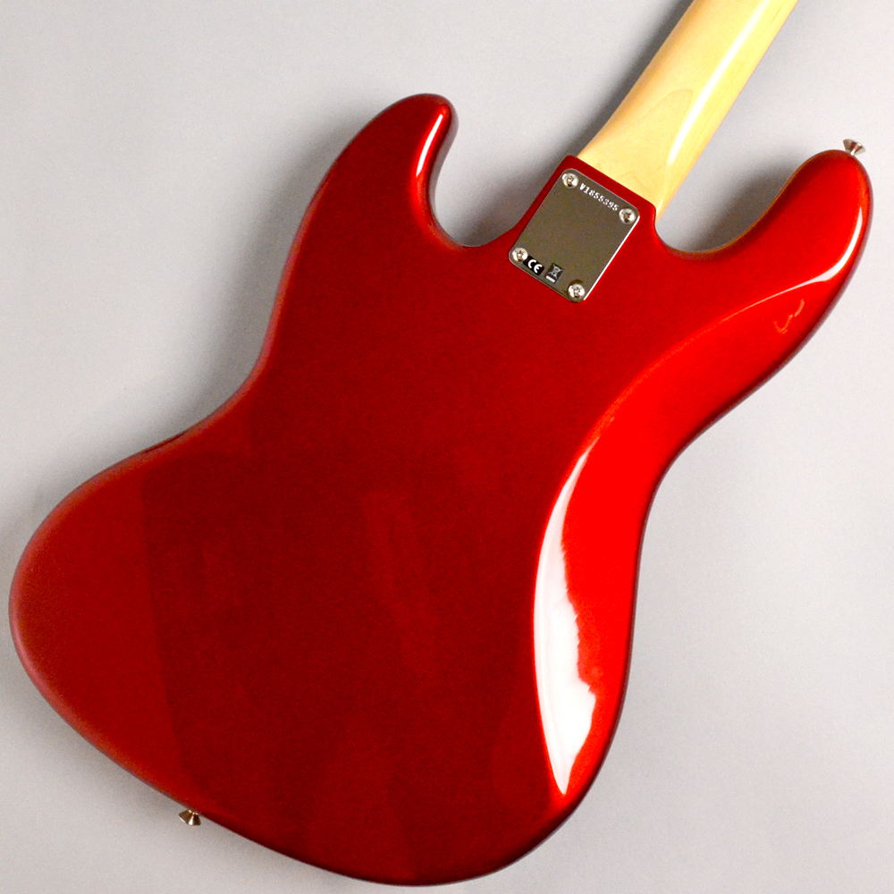 AMERICAN ORIGINAL '60S JAZZ BASS Candy Apple Redのボディバック-アップ画像
